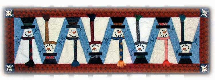 Topsy Turvy Snowman Pattern Plus Embellishments