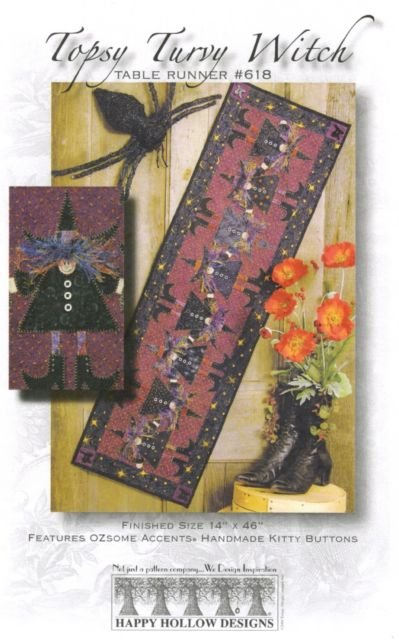 Topsy Turvy Witches Kit