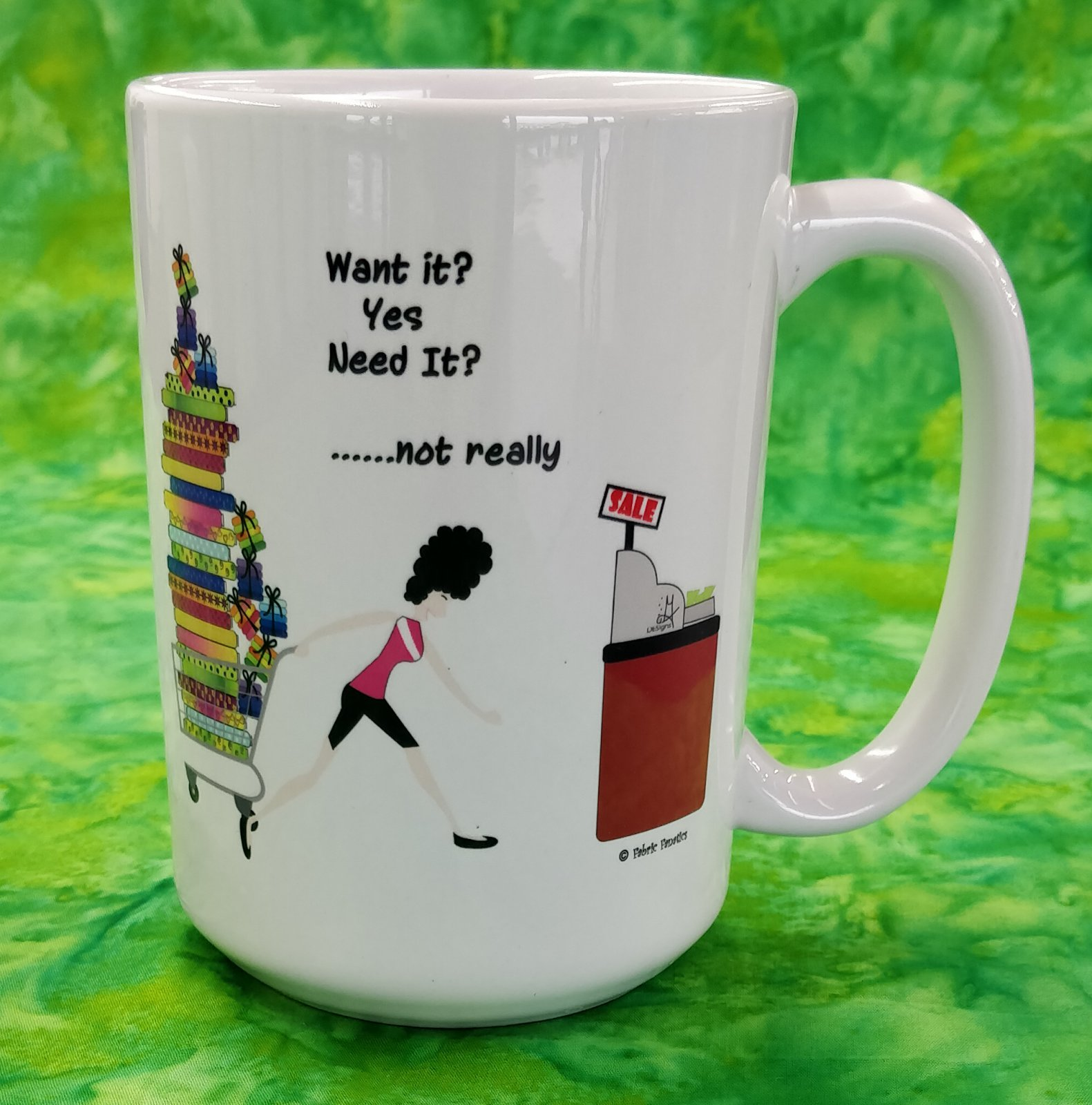 Mug - Do I Want It - in store or curbside