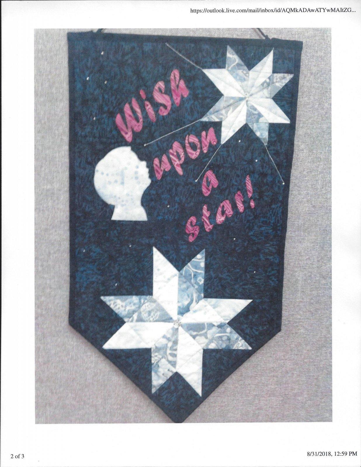 2018 NTSH Wish Upon A Star Banner Kit