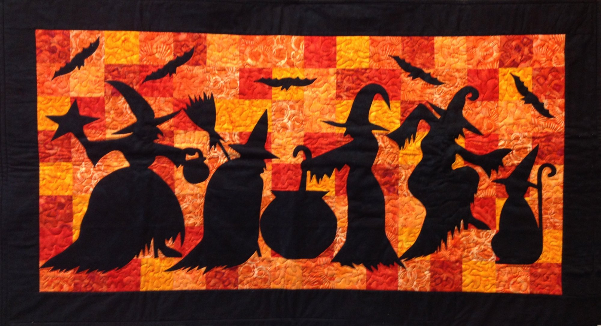 Witches Cauldron Quilt Kit