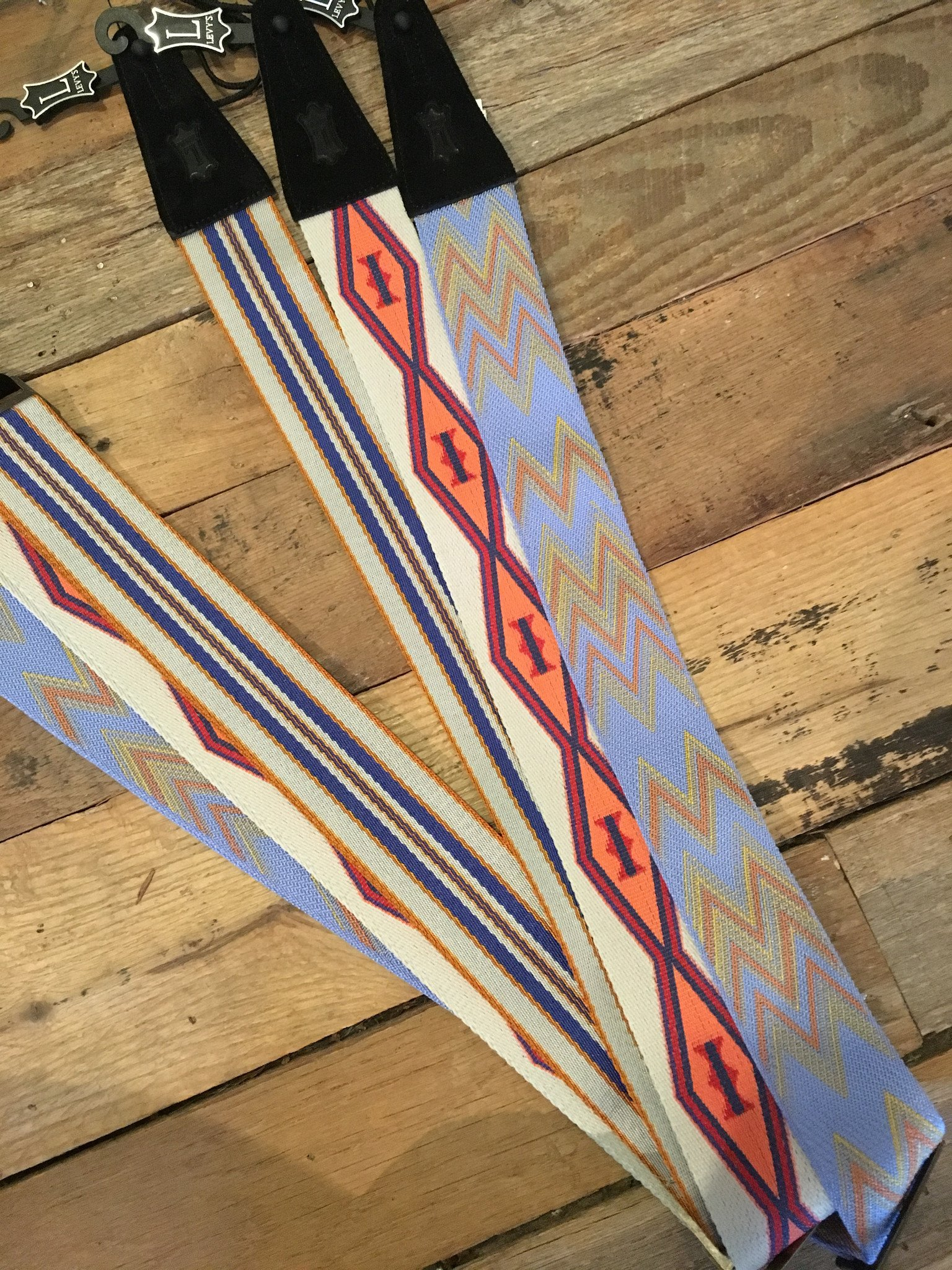 Levy's Arizona Skies Woven Guitar Strap
