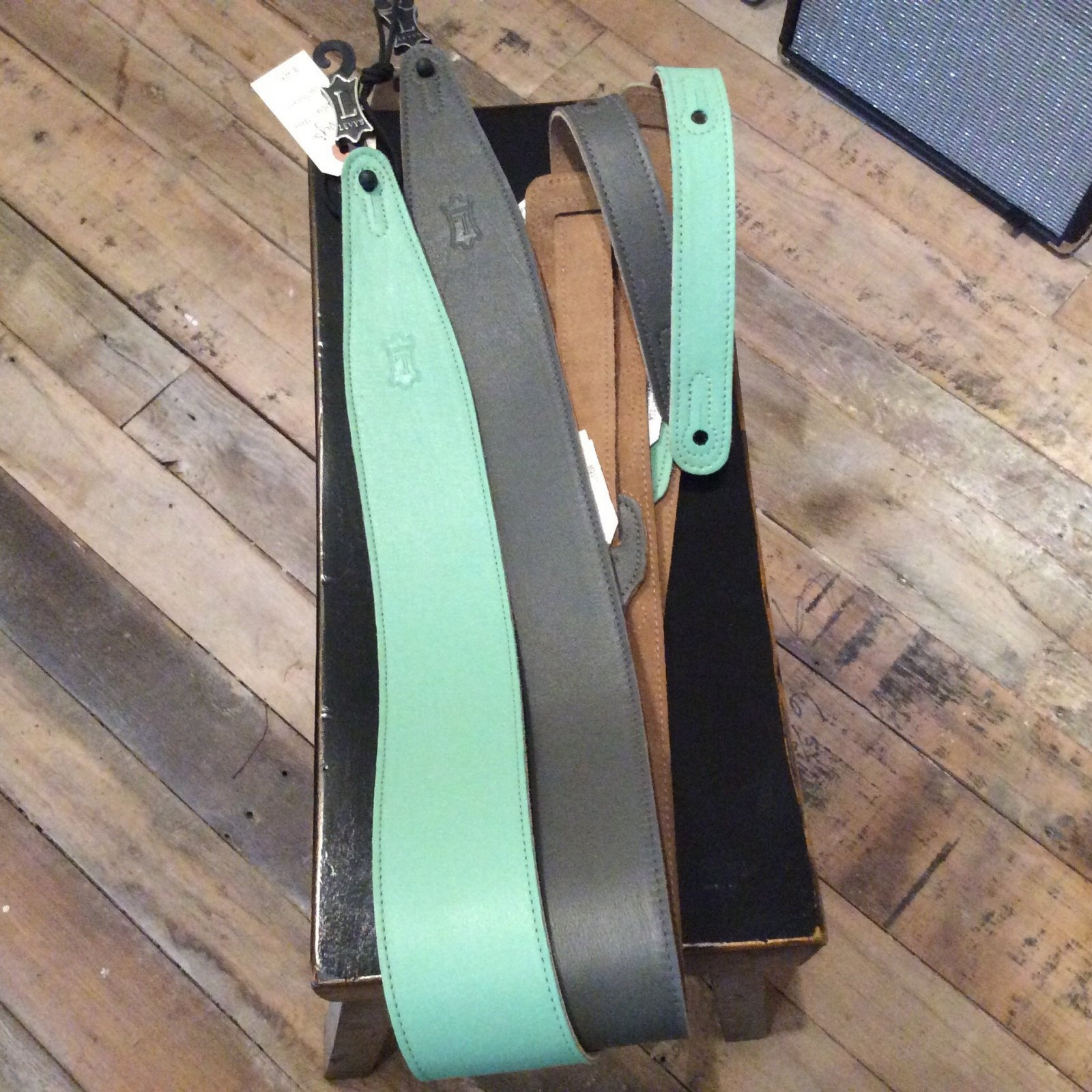 Levy's Premium Leather Strap with Suede Backing