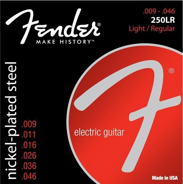 Super 250's Nickel-Plated Electric Guitar Strings: 250L, 250LR, 250R, 250M