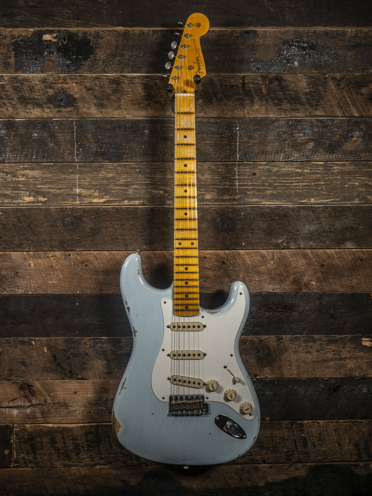 Fender Custom Shop Limited 1956 Heavy Relic Stratocaster Faded Sonic Blue