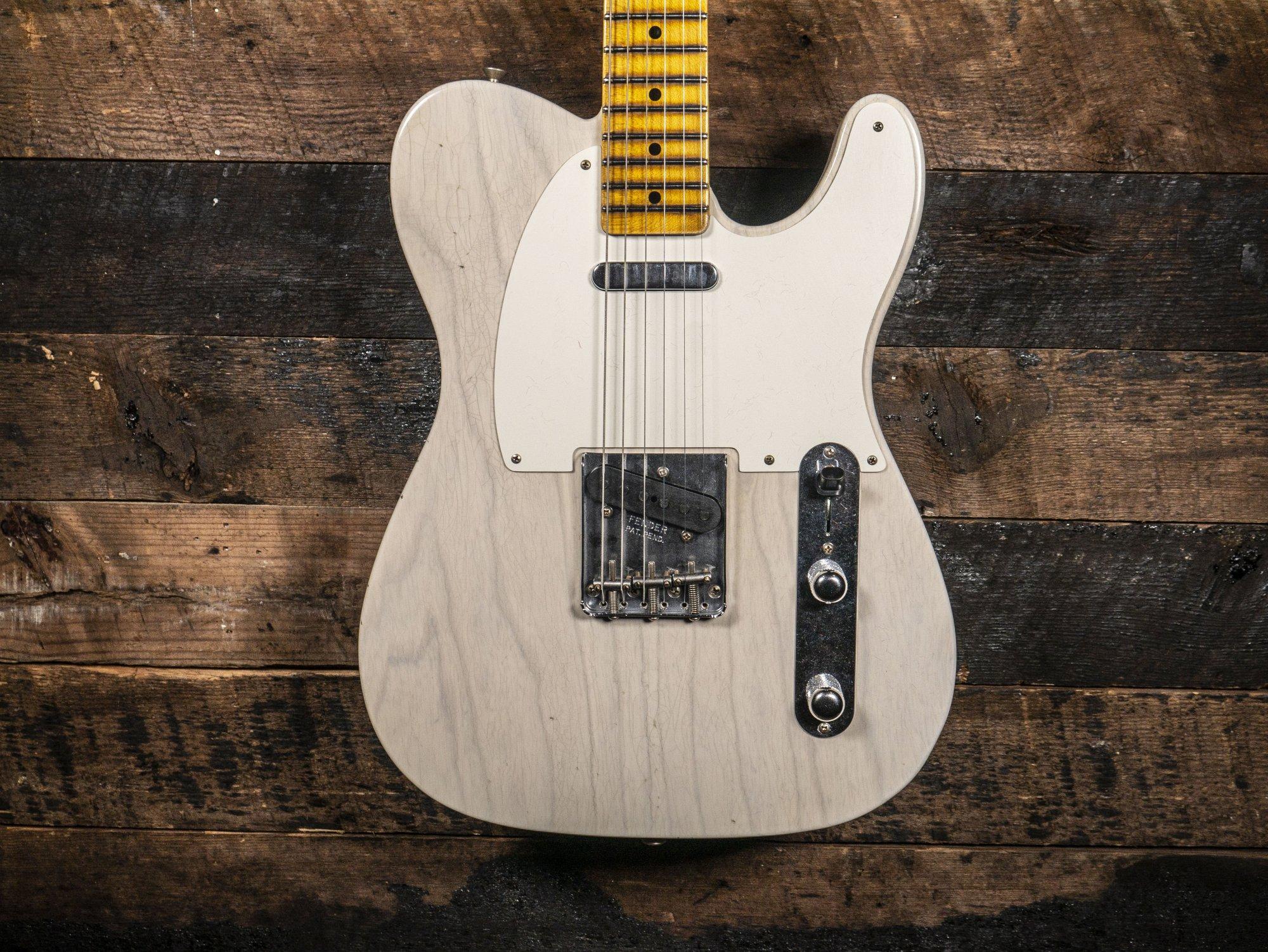 Fender Custom Shop Limited Journeyman 55' Aged White Blonde Telecaster