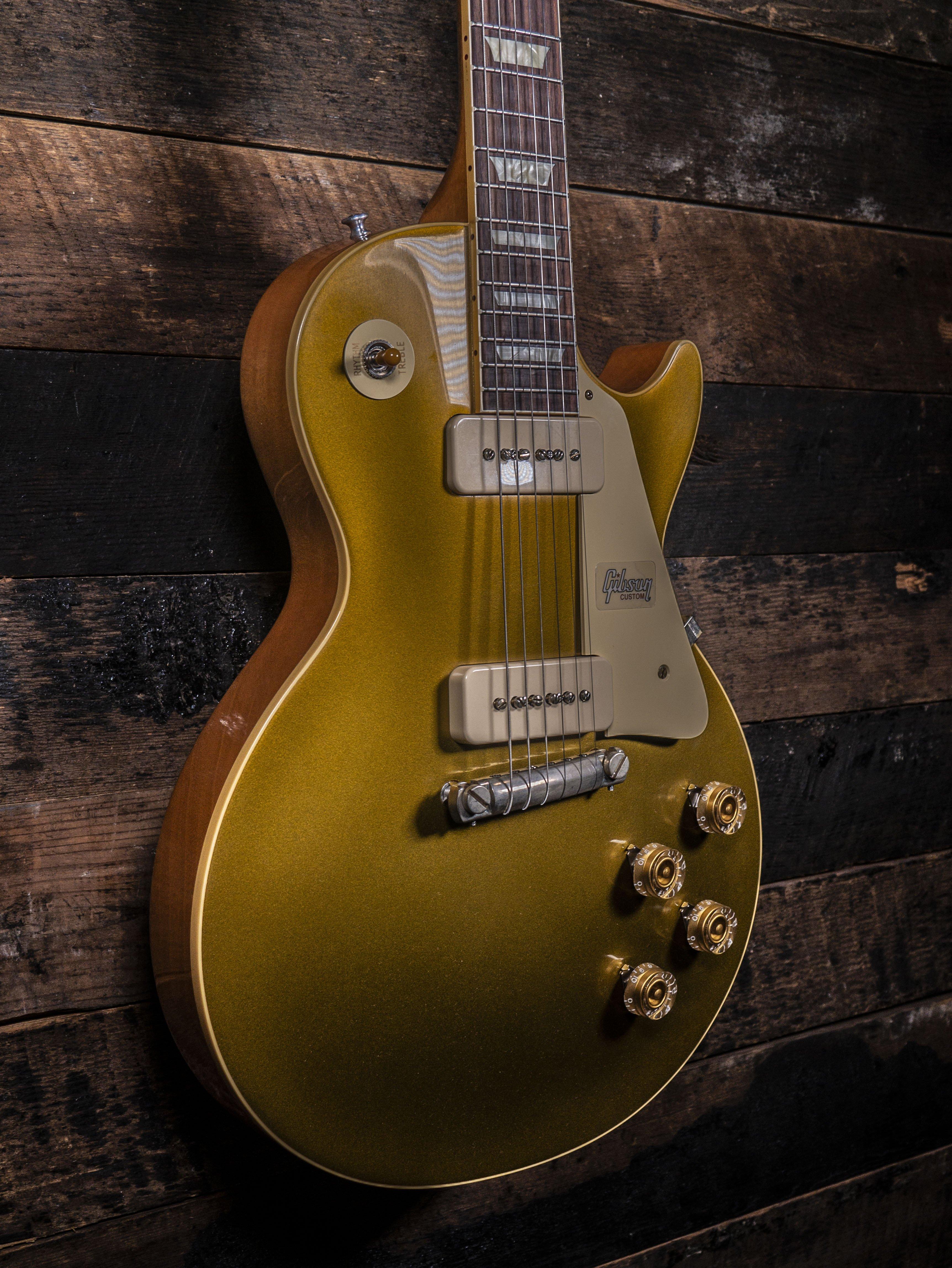 Gibson Custom Shop Les Paul R4 Gold Top VOS