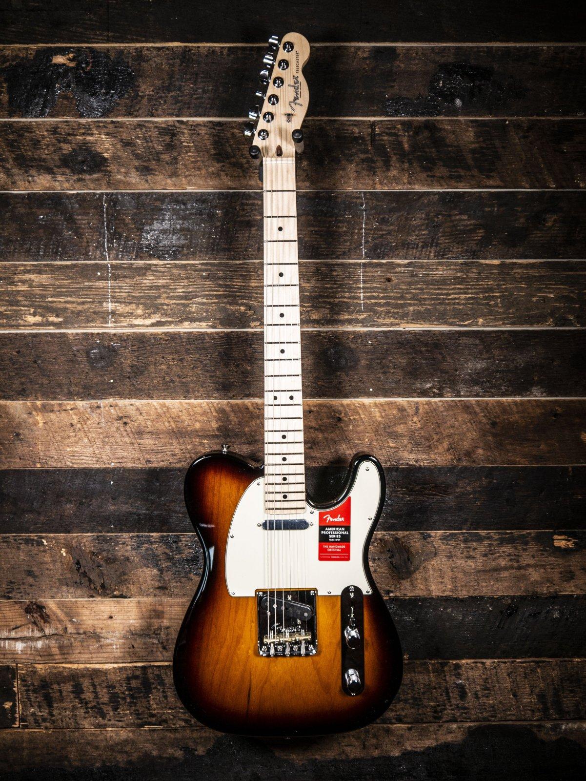 Fender American Professional Telecaster 3 Tone Sunburst