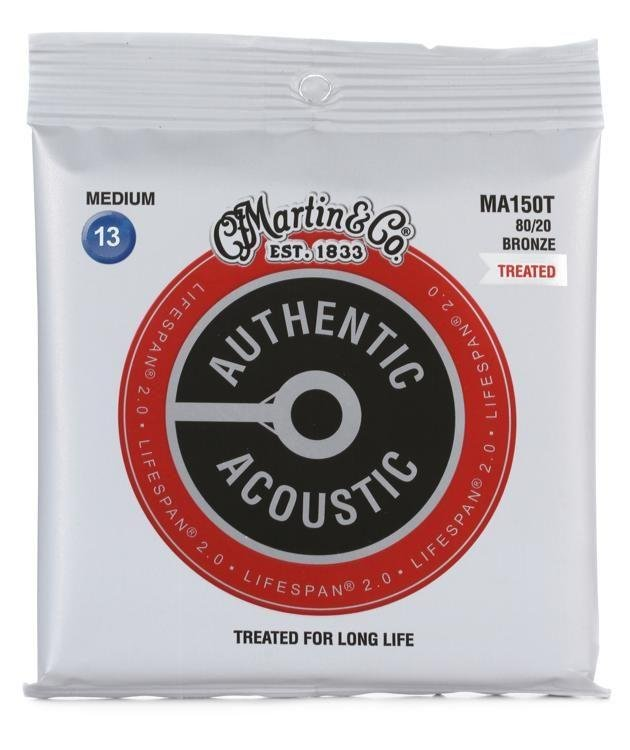Martin MA150T Treated Acoustic Strings Medium
