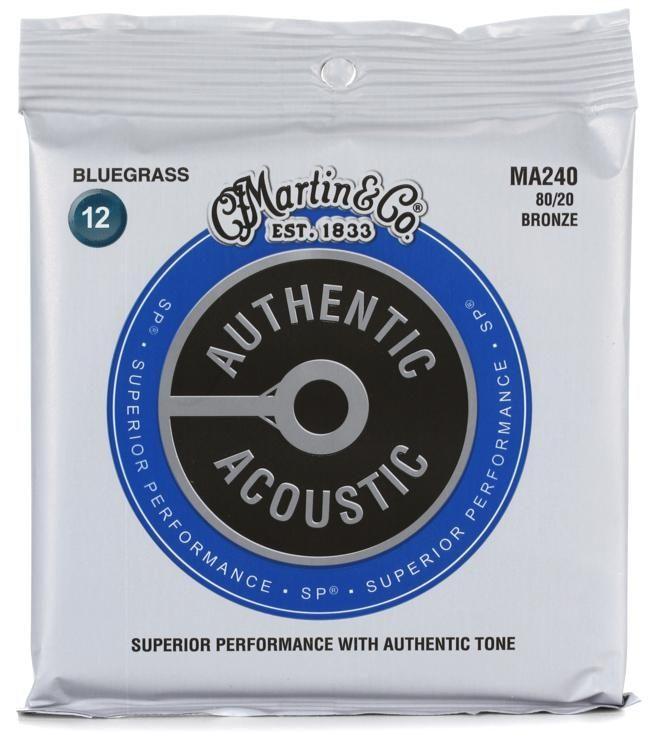Martin MA240 Acoustic Strings Medium Light