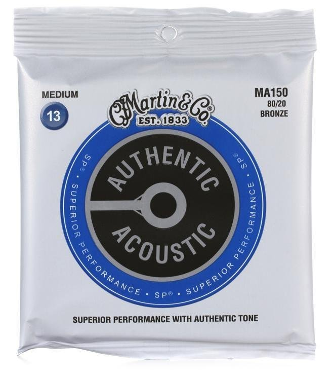 Martin MA150 Acoustic Strings Medium