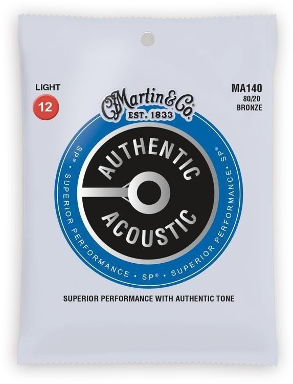 Martin MA140 Acoustic Strings Light