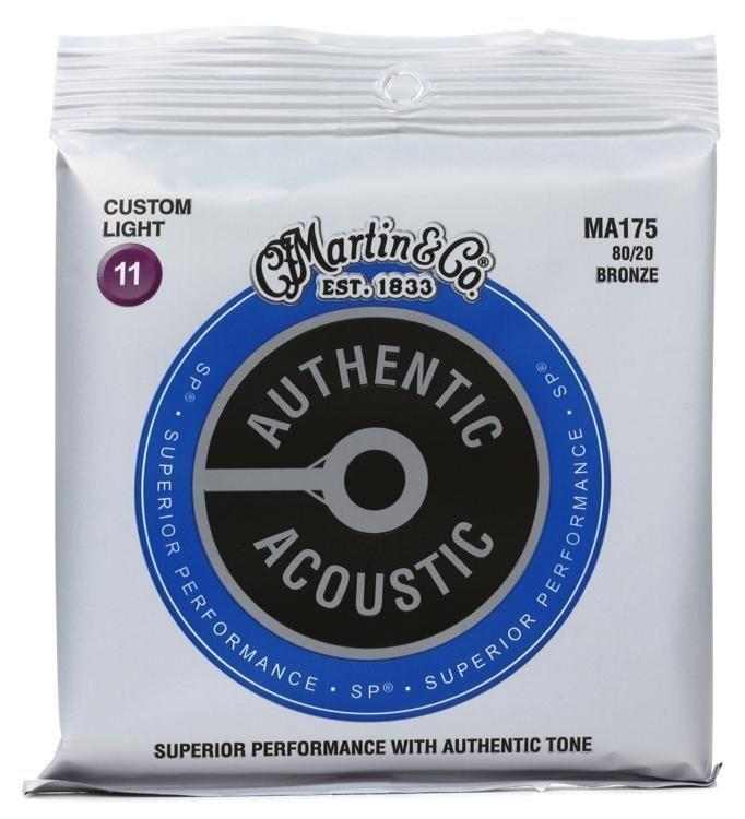 Martin MA175 Acoustic Strings Custom Light