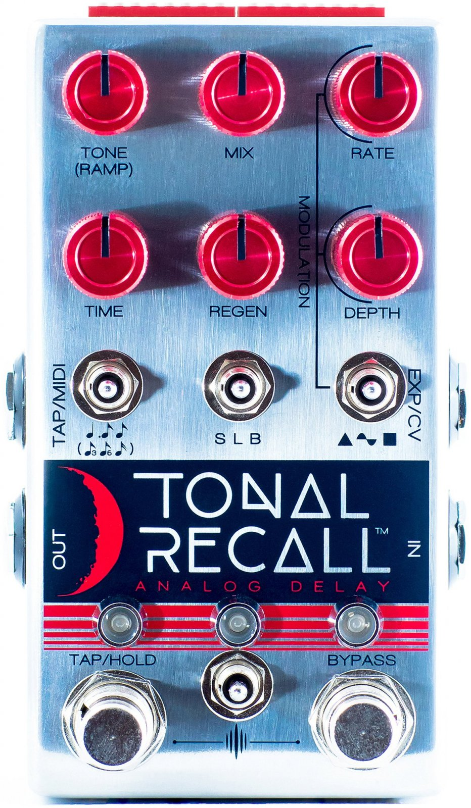 Chase Bliss Audio Tonal Recall RKM (Red Knob Mod) Analog Delay