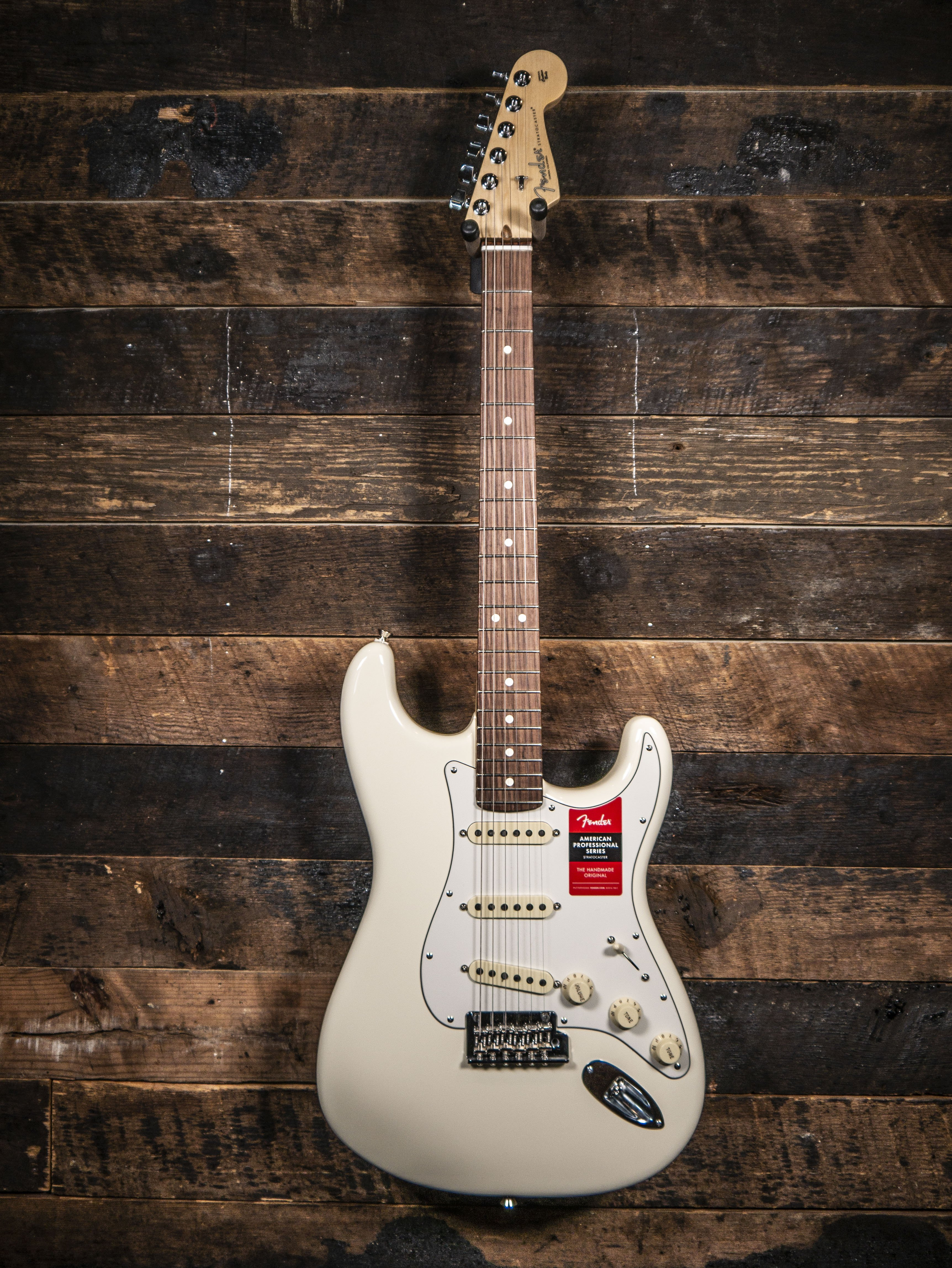 Fender American Professional Olympic White w/Rosewood Fretboard