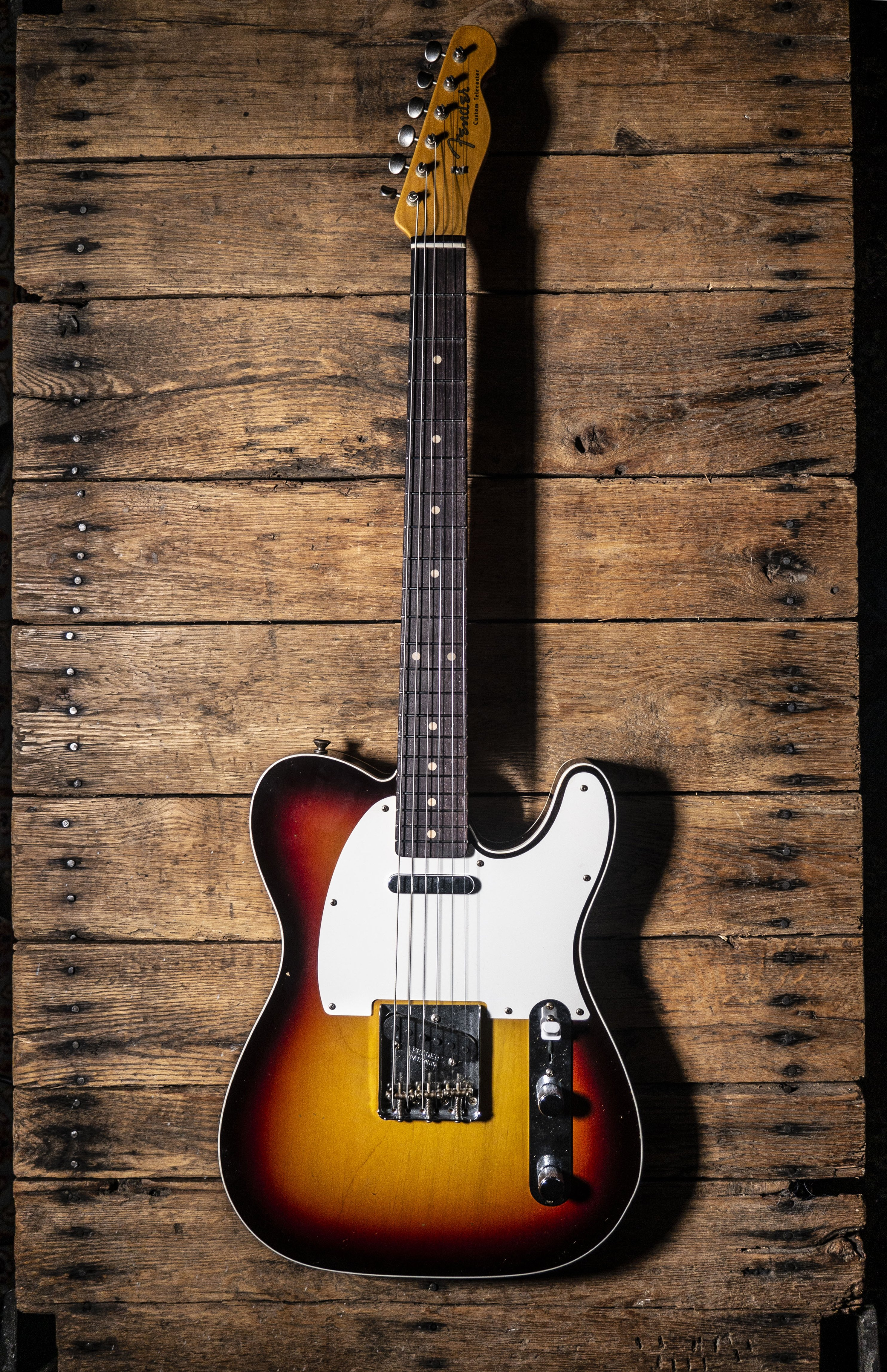 Fender Custom Shop Limited 1959 Telecaster Custom Chocolate 3 Tone Sunburst (Hand Selected)