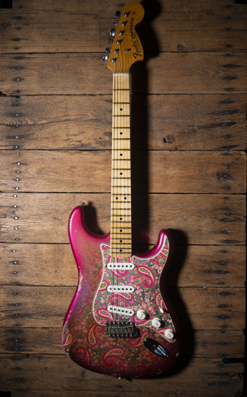 Fender Custom Shop Limited Edition '68 Stratocaster Relic Pink Paisley (Hand Selected)