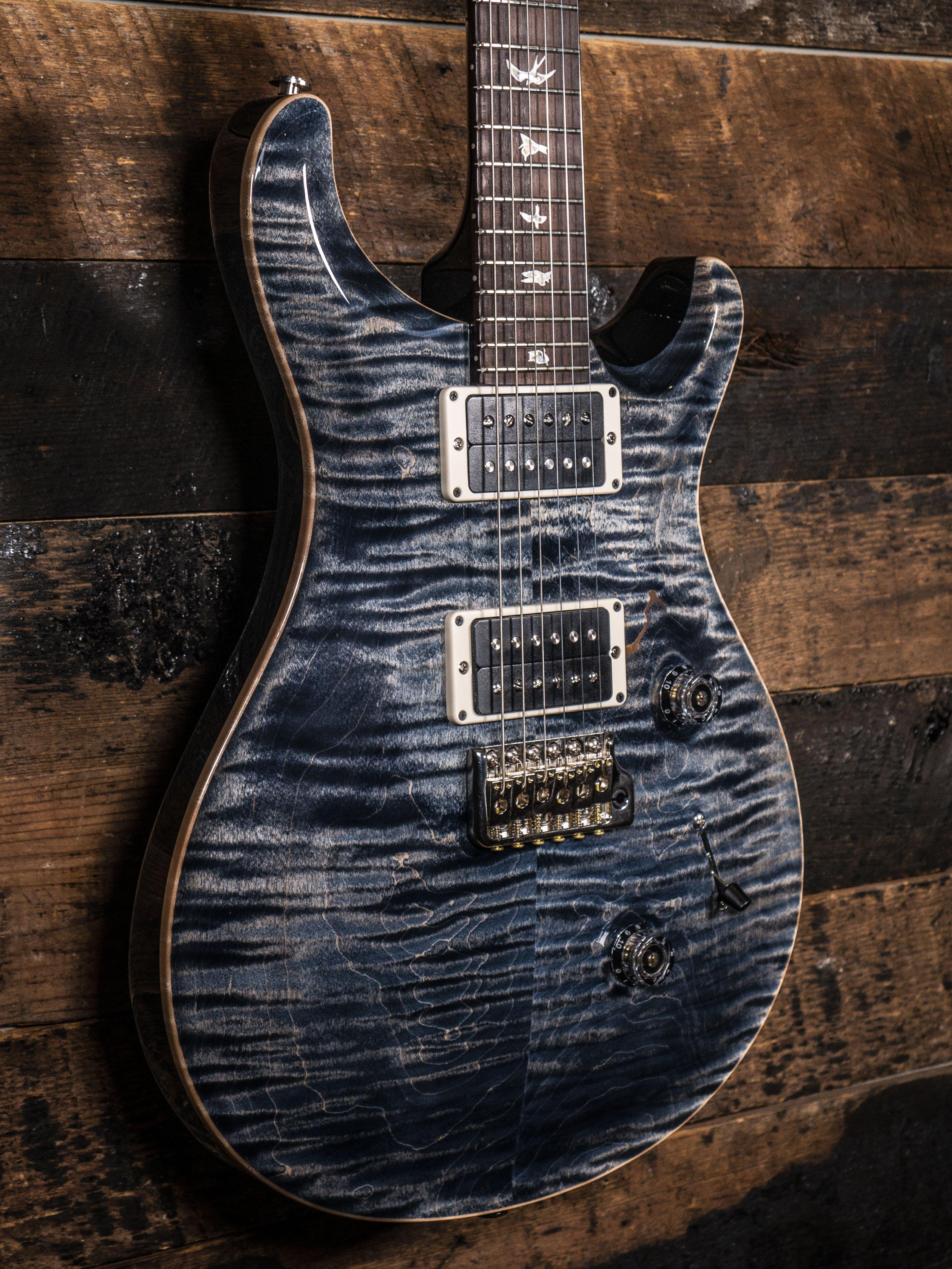 PRS Custom 24 Faded Whale Blue