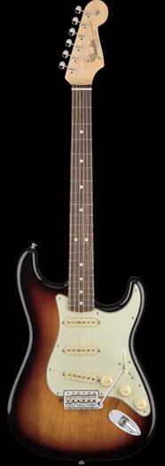 Fender, American Original 60's Stratocaster, 3-Color Sunburst