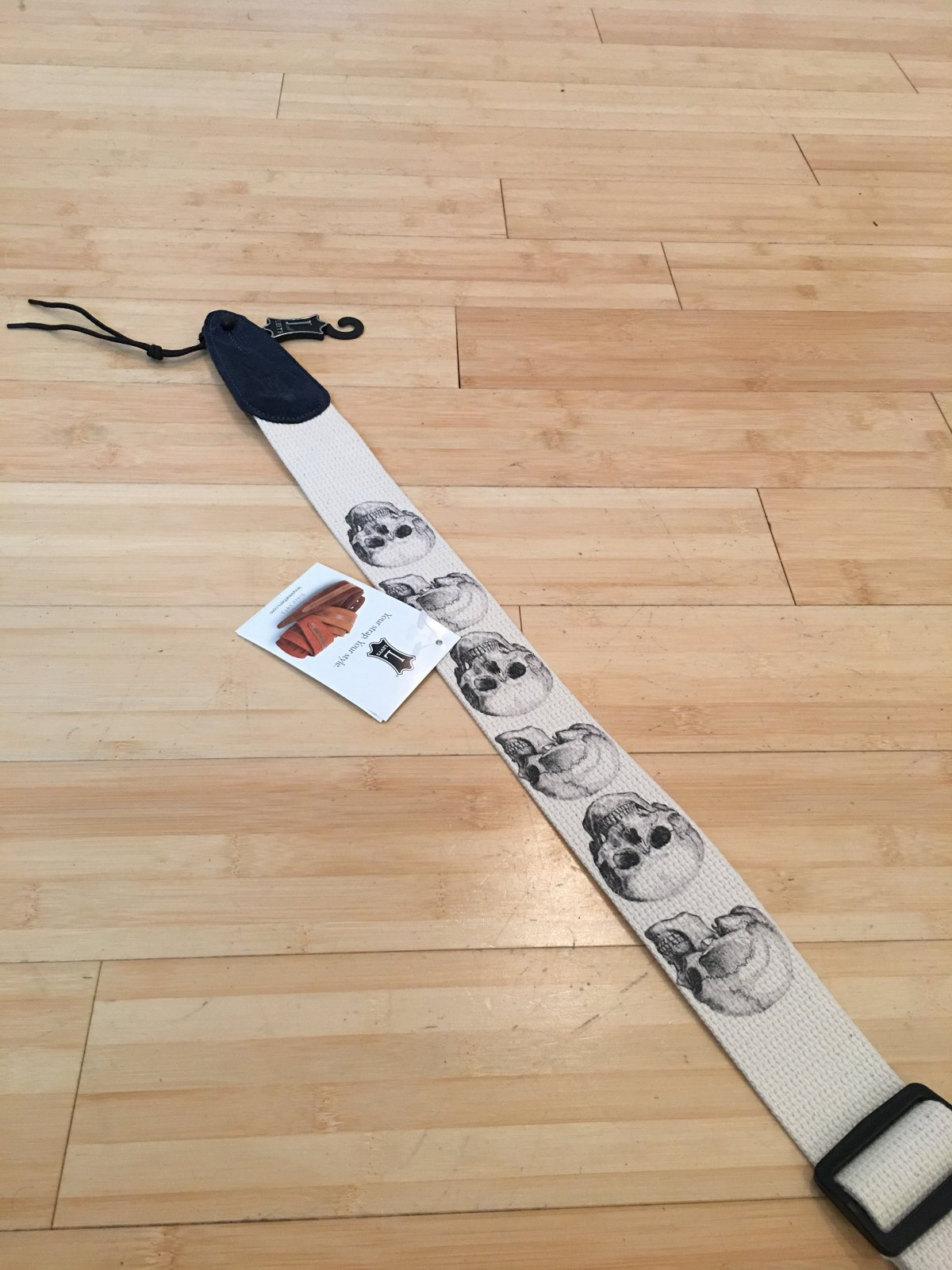 Levy's 2 100% cotton guitar strap with decoritive MC8LCD-002