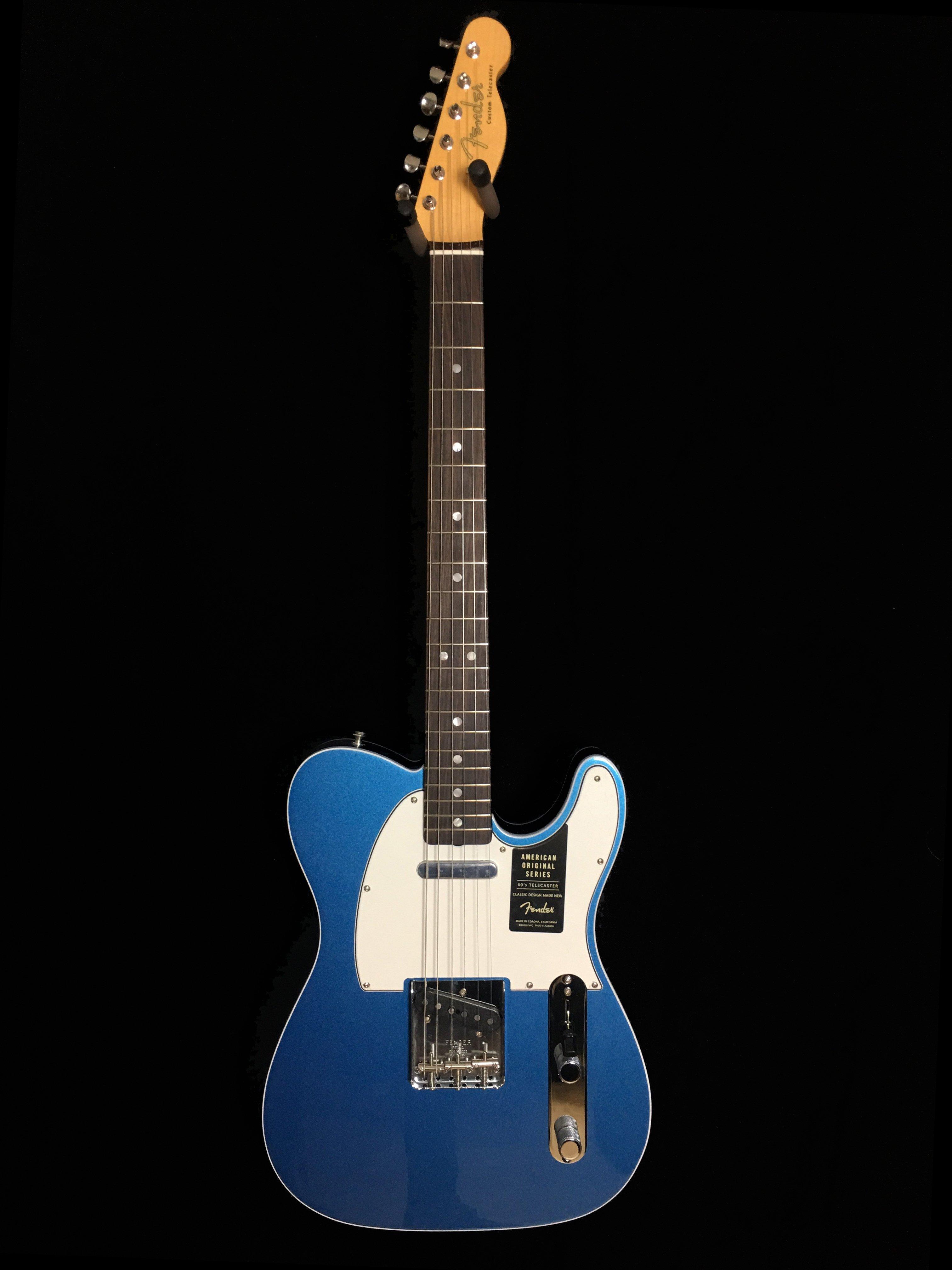 Fender, American Original '60s Telecaster®, Rosewood Fingerboard, Lake Placid Blue