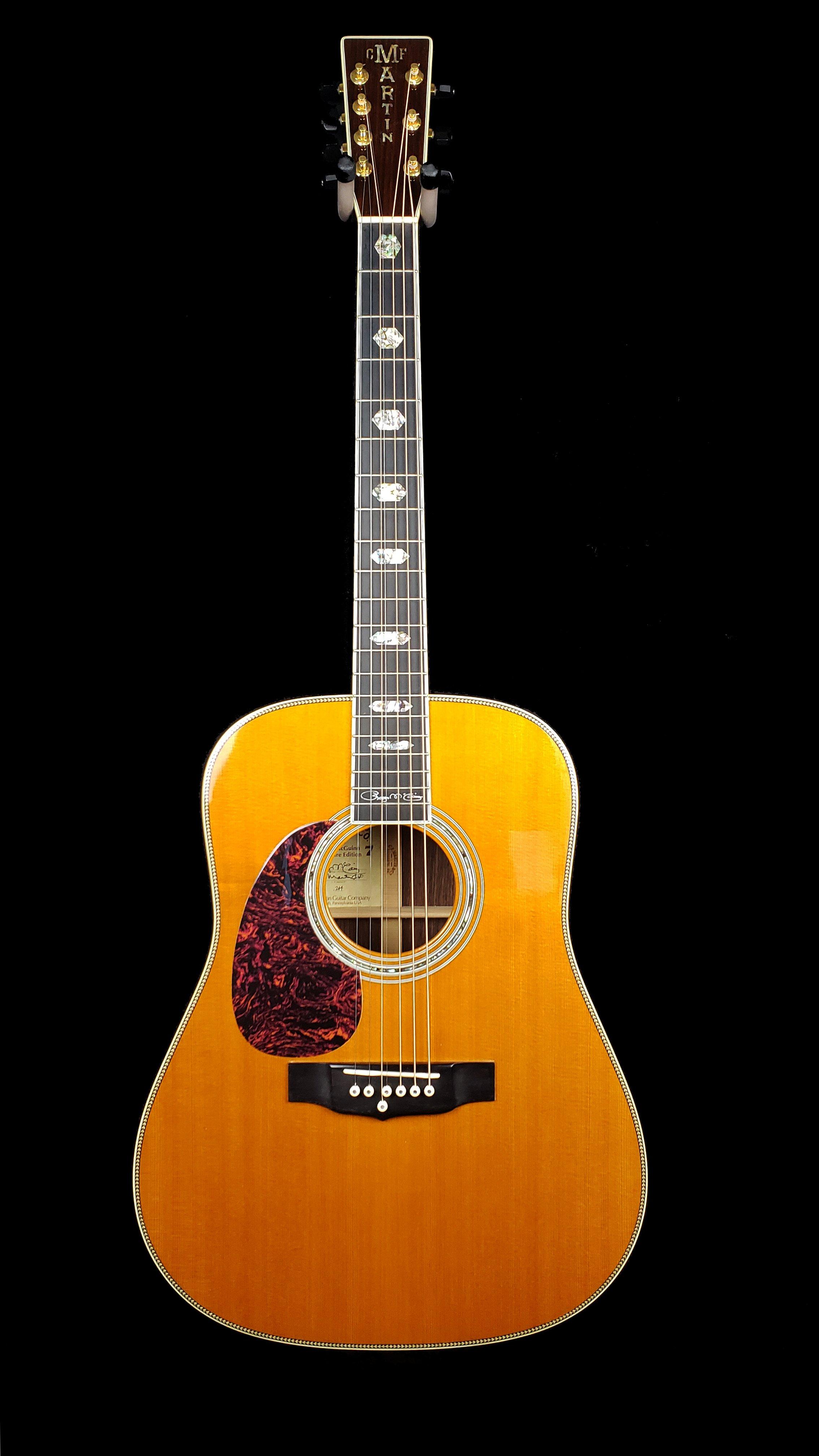 Martin HD-7 Roger McGuinn 7 String Signed