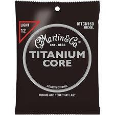 Martin Strings Titanium/Nckl 160