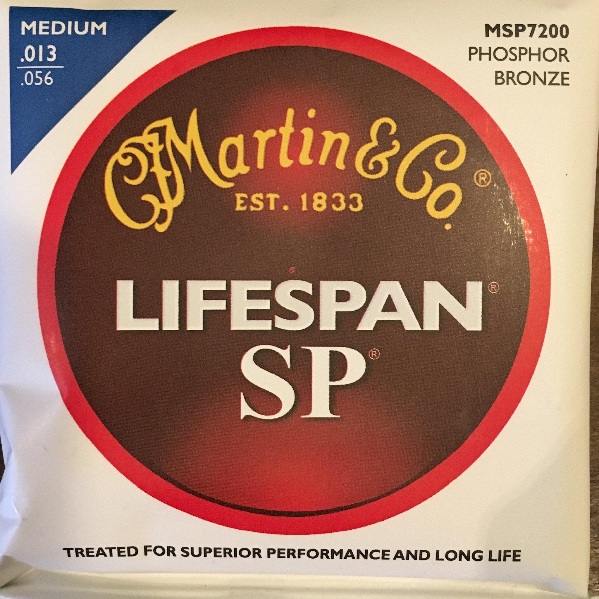 Martin MSP7200 Phosphor Bronze Strings