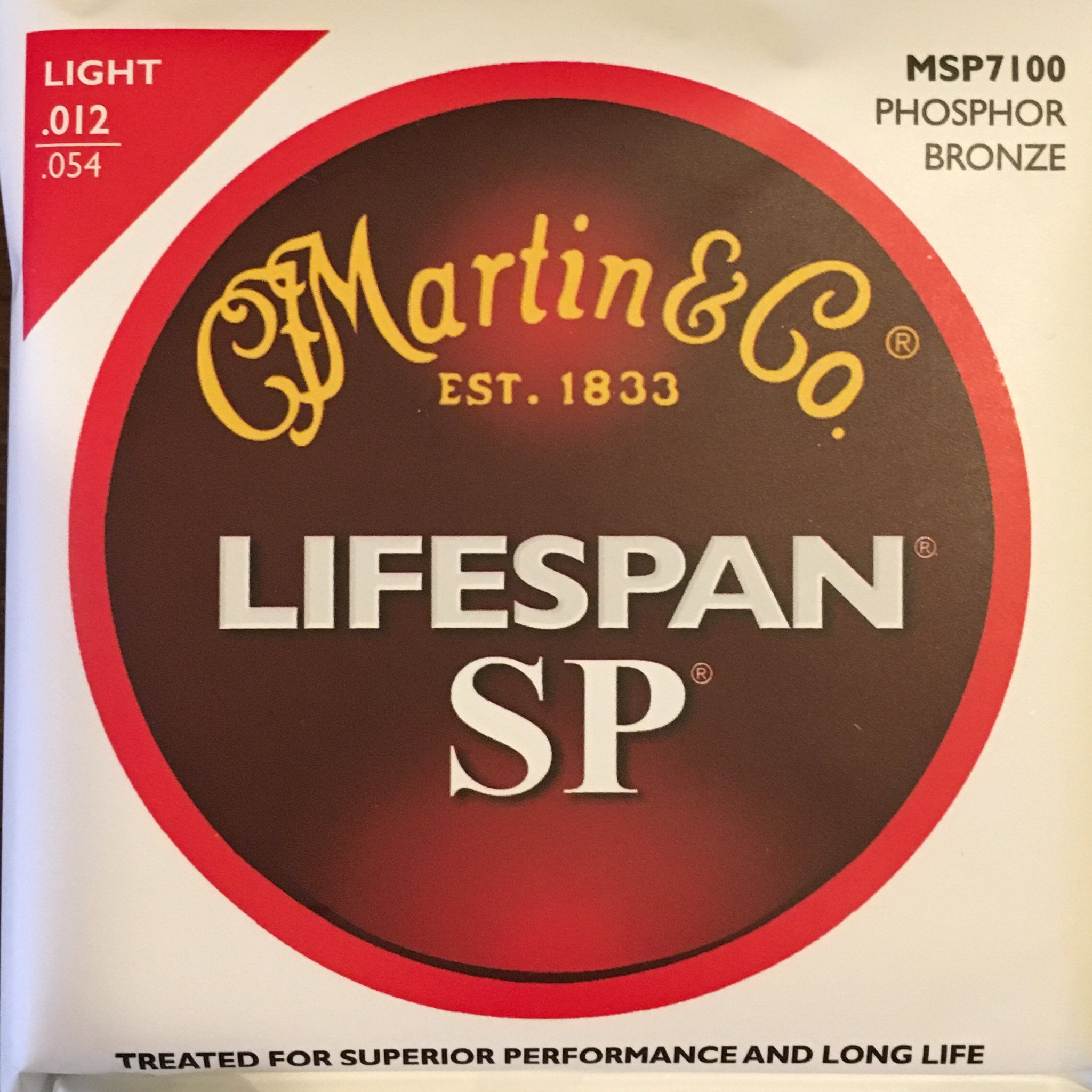 Martin MSP7100 Phosphor Bronze Strings