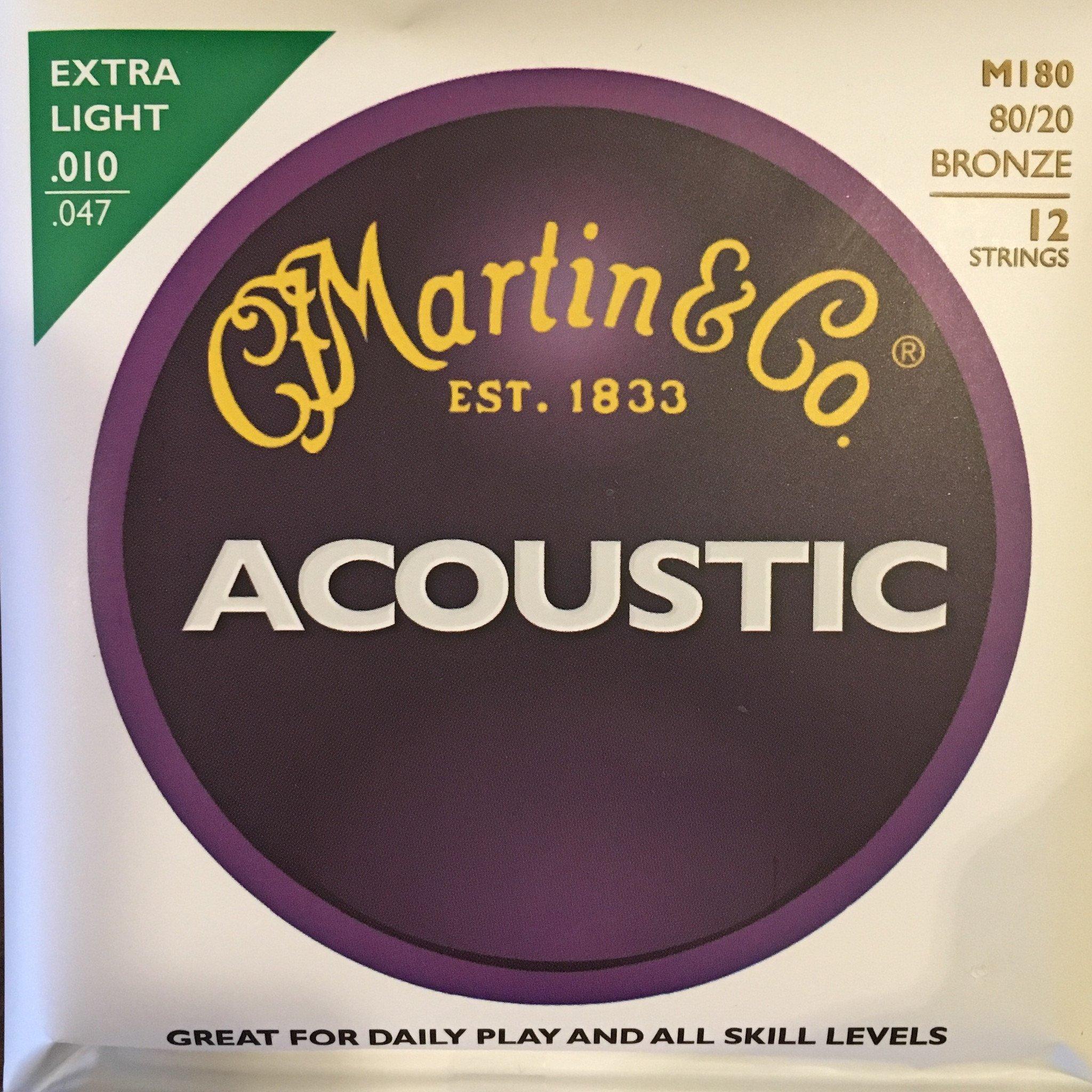 Martin M180 80/20 Bronze Martin 12 strings