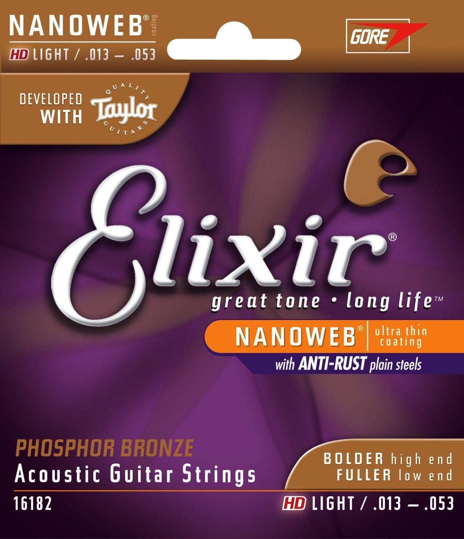 Elixir HD Light Acoustic Guitar Strings