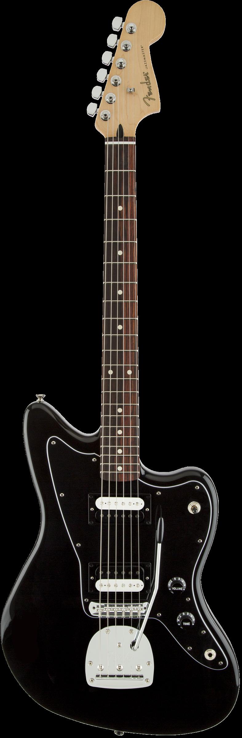 Standard Jazzmaster® HH, Rosewood Fingerboard, Black