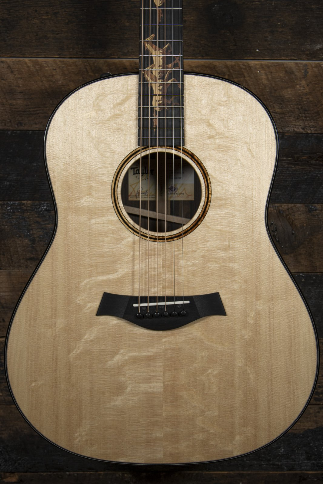 Taylor Custom Shop NAMM Exclusive Running Horses Grand Pacific & add a GS Mini for $99 (call for details)