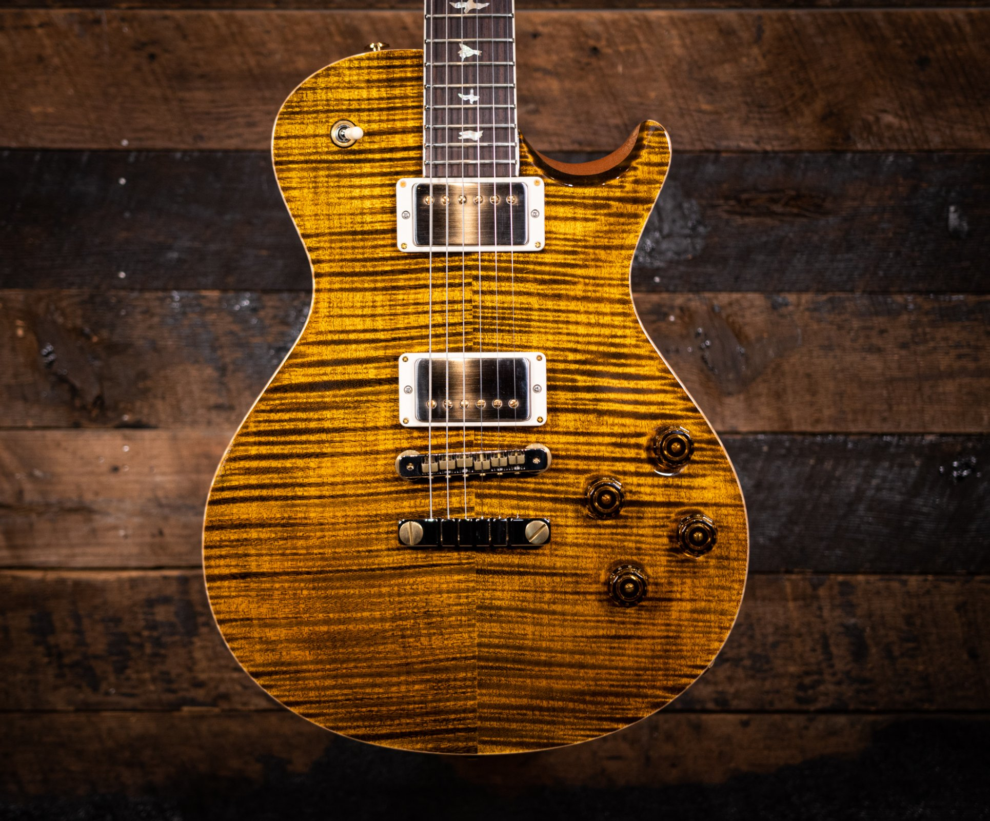 PRS McCarty 594 10 Top Yellow Tiger