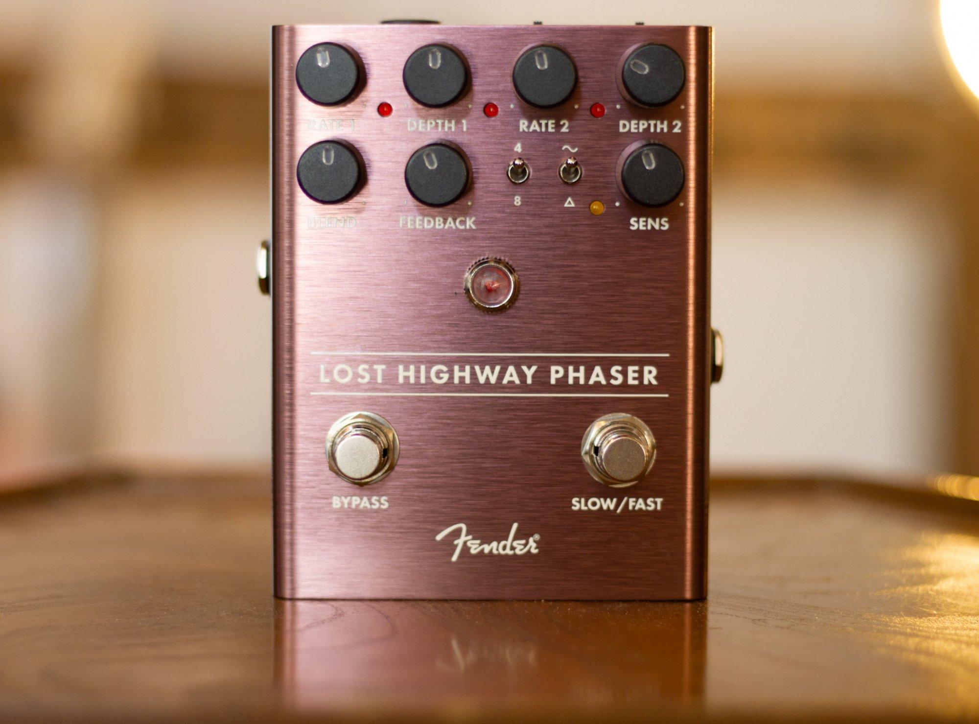 Fender Lost Highway phaser Pedal