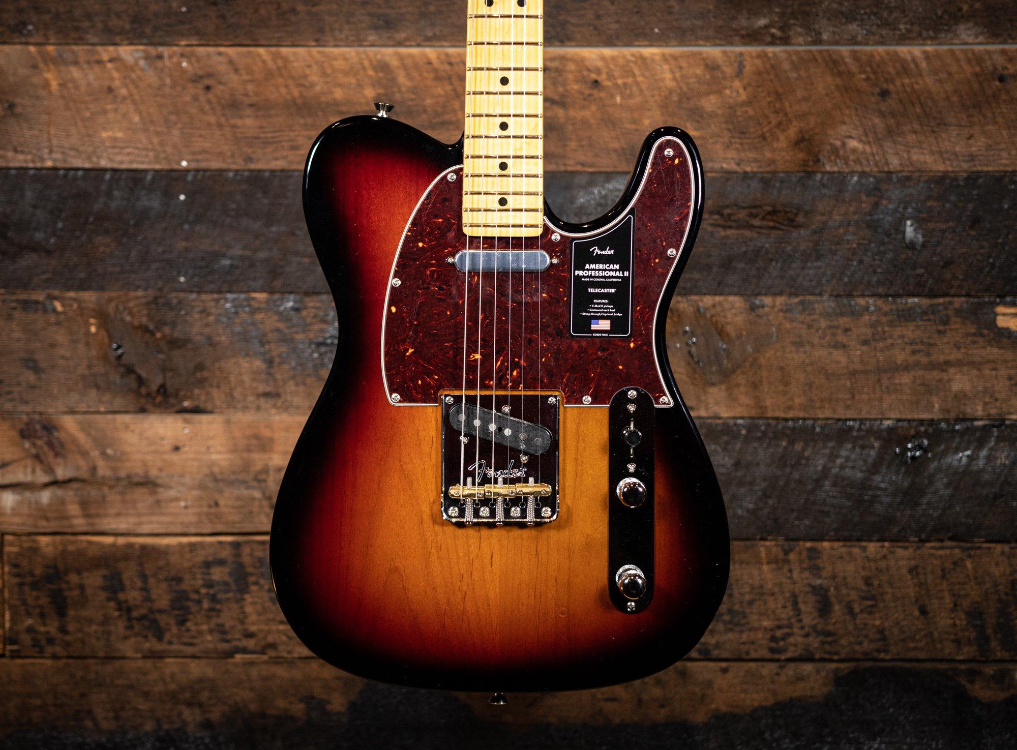 Fender American Pro II Telecaster in 3-tone Sunburst