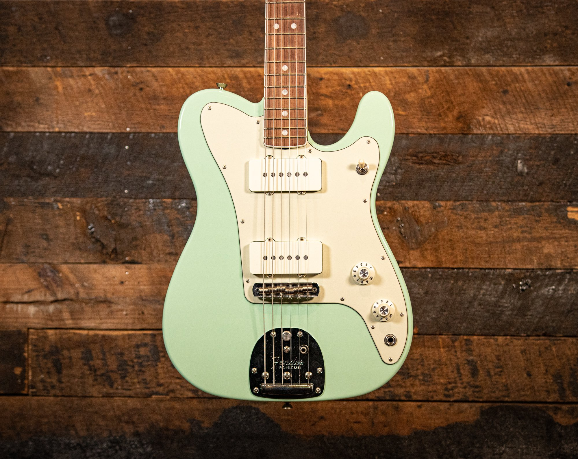 Fender Limited Edition Parallel Universe Jazz Tele Surf Green