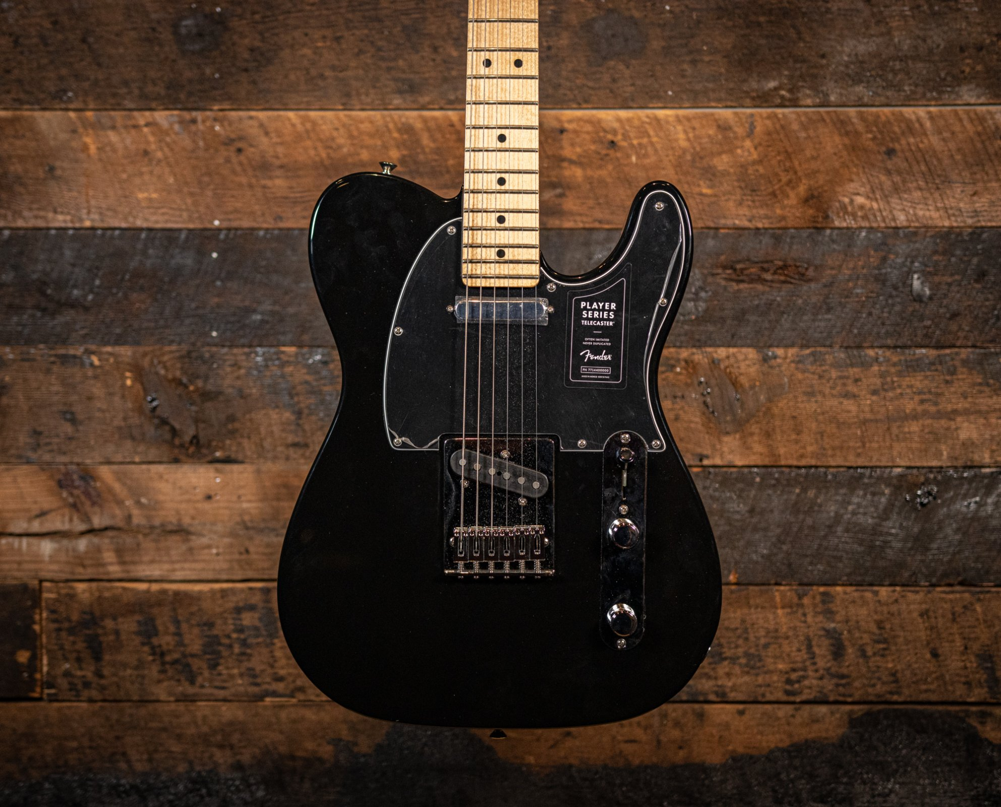 Fender Player series Telecaster Black