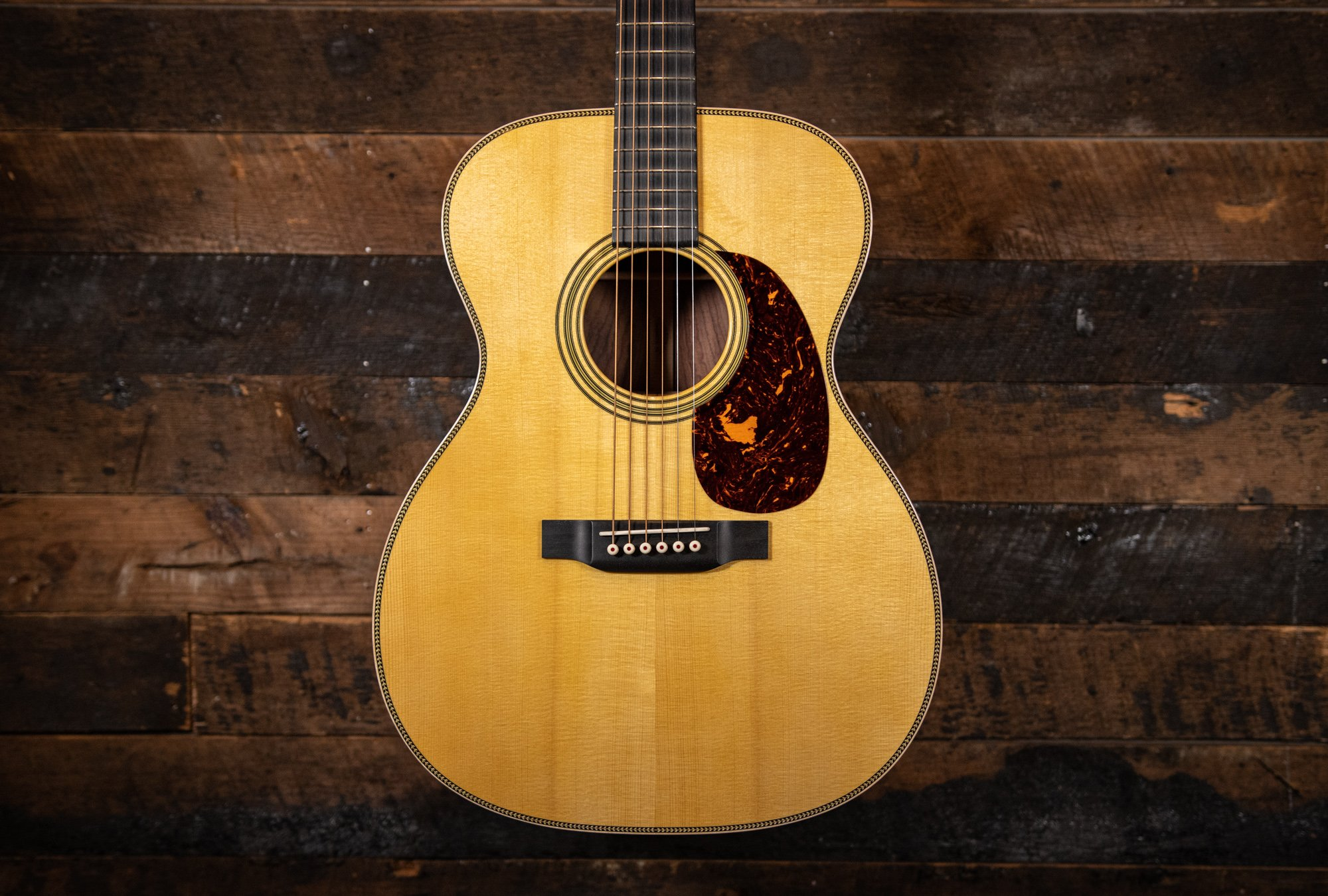 Martin Custom Shop 000-14 Wild Grain East Indian Rosewood & Adirondack Top (Handselcted)