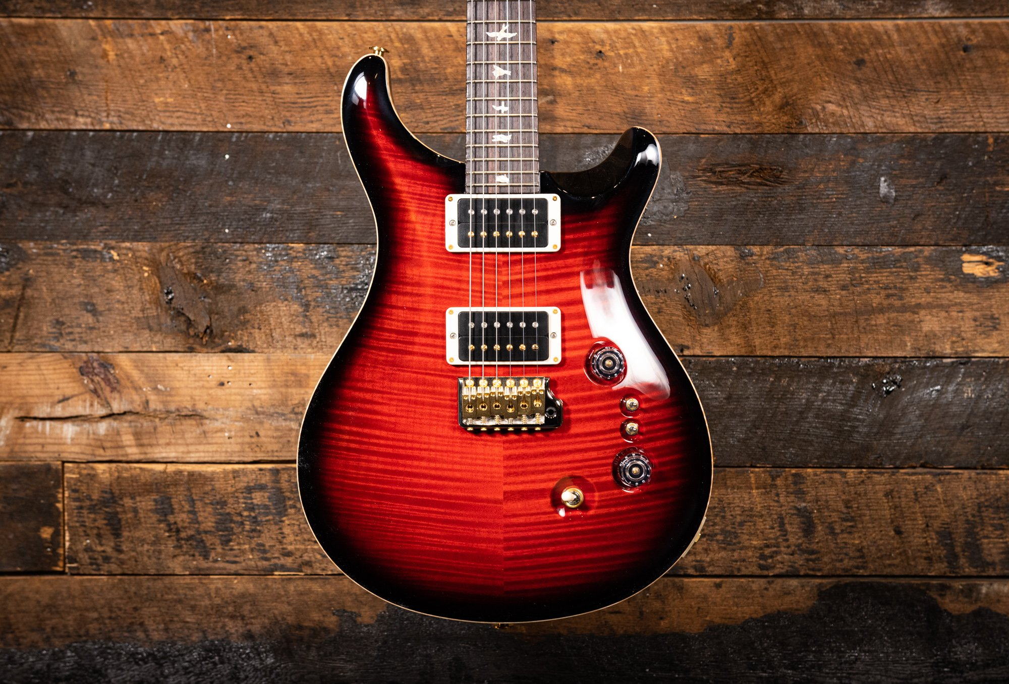 PRS 35th Anniversary Custom 24 Cherryburst 10 Top