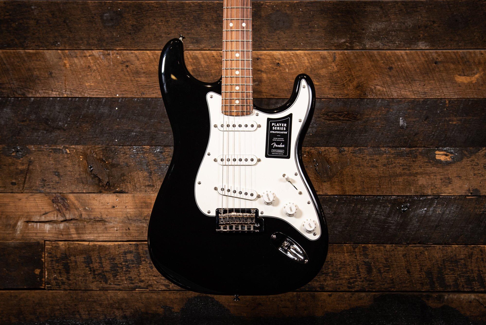 Fender Player Series Stratocaster Black