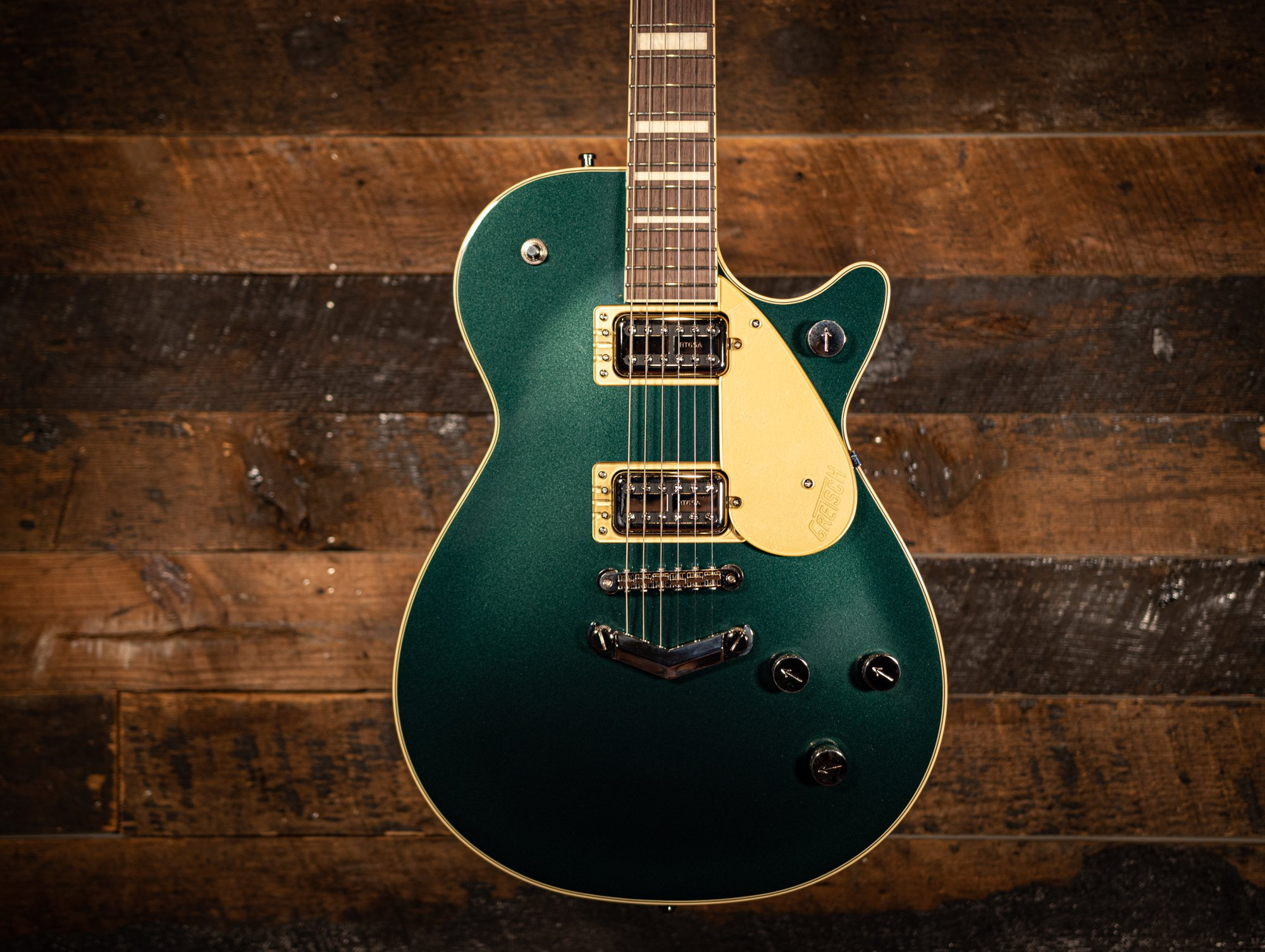 Gretsch G6228 Players Edition Cadillac Green