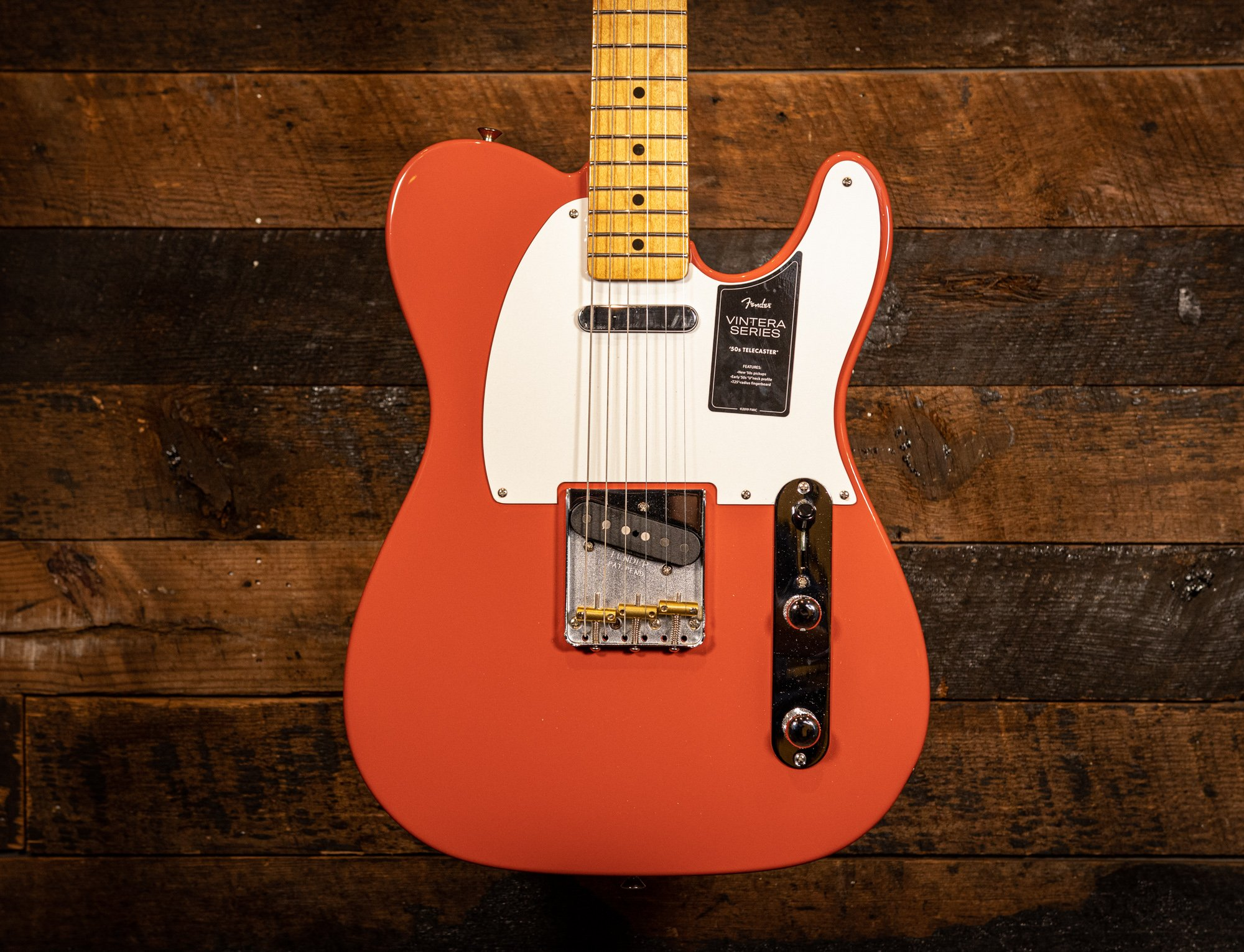 Fender Vintera 50's Telecaster in Fiesta Red