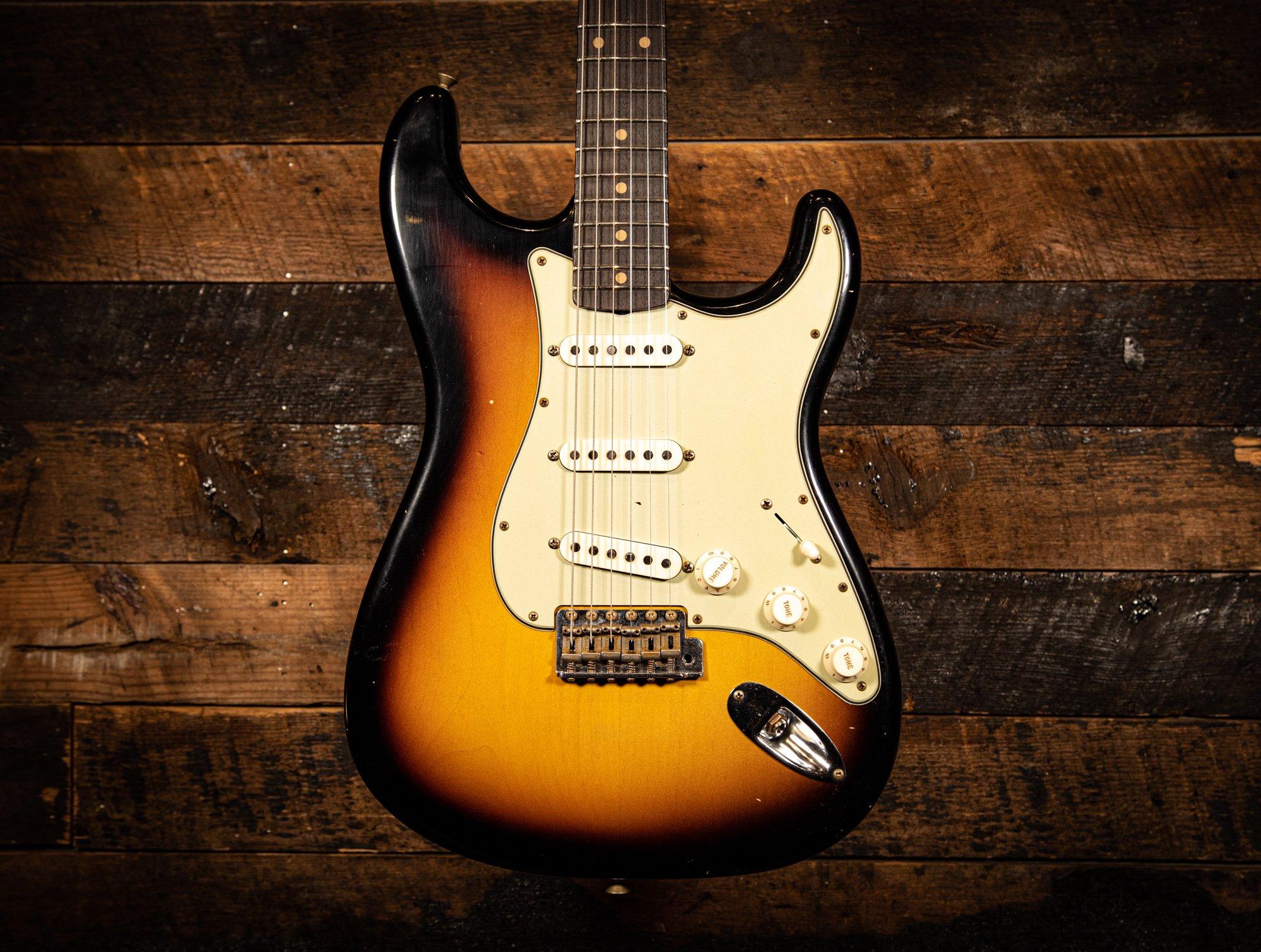 Fender Custom Shop LTD 1960's Stratocaster Journeyman Relic Faded Aged 3-tone Sunburst