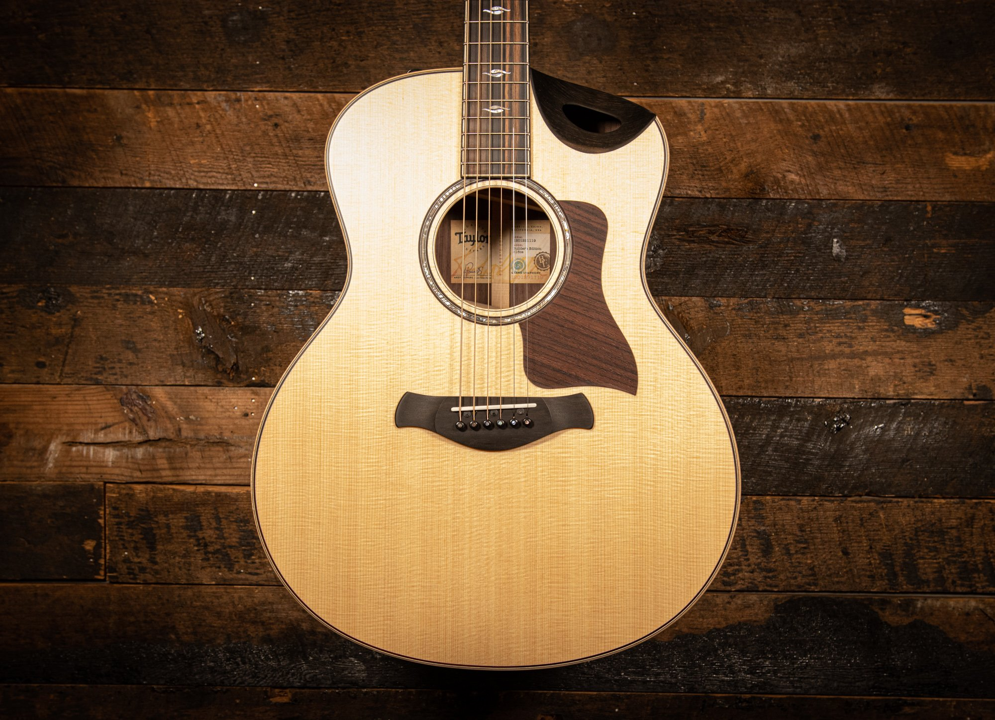 Taylor 816ce Builders Edition