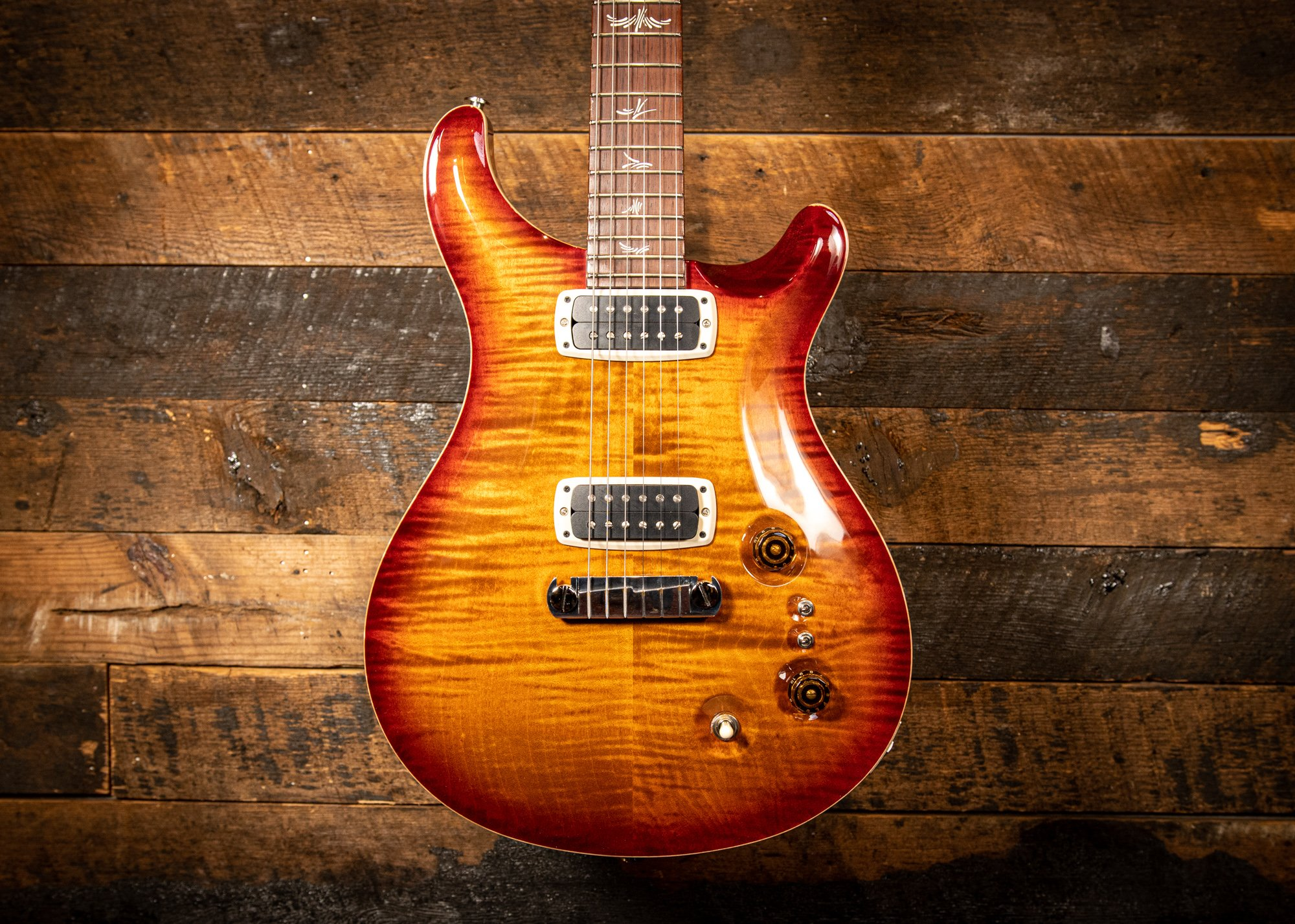 PRS Paul's Guitar Non-10 top in Dark Cherry-burst