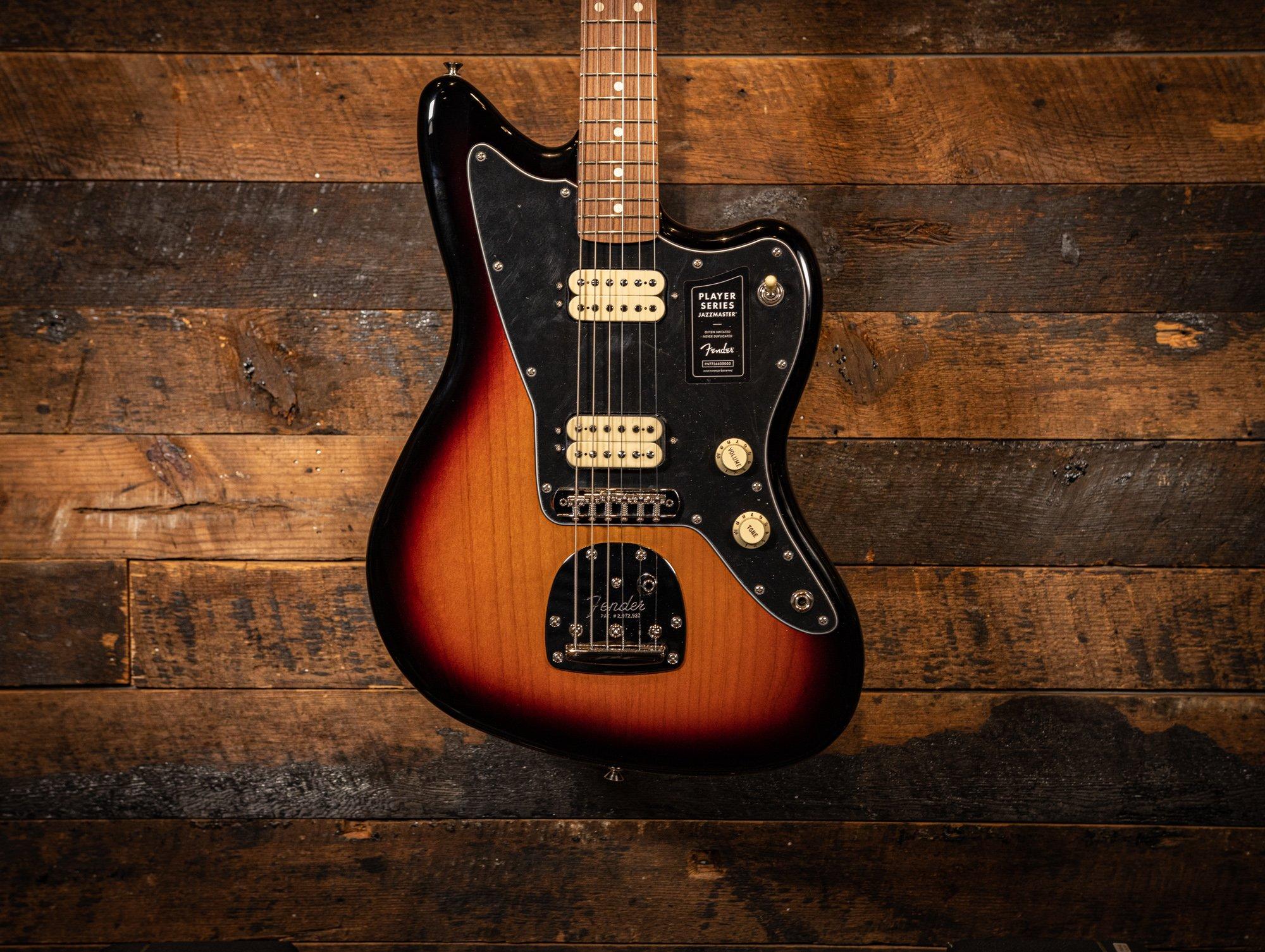 Fender Player Series Jazzmaster in 3-tone sunburst