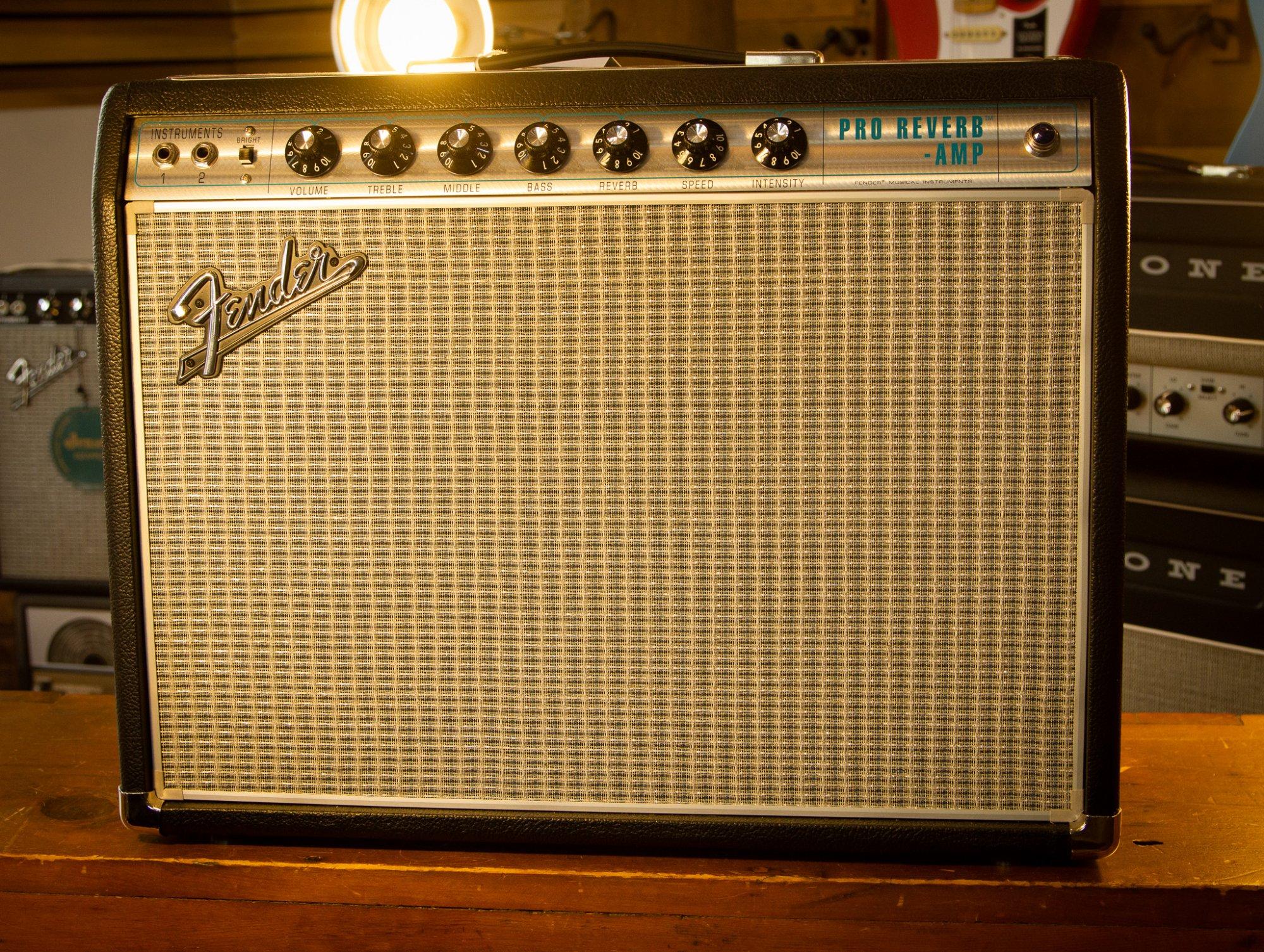 Fender 68' Reissue Pro-Reverb Amp