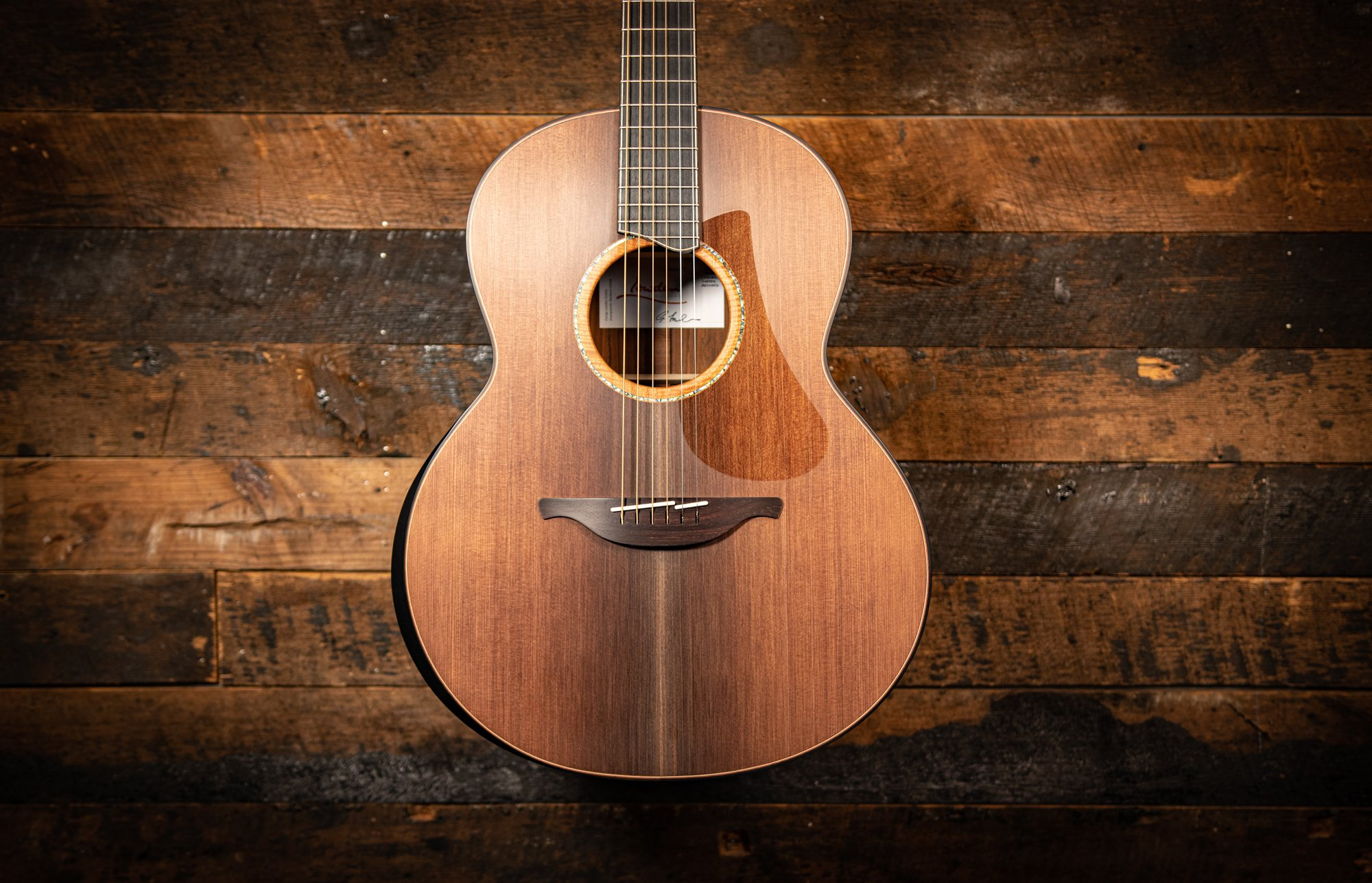 Lowden F50 Sinker Redwood & Cocobolo Back and Sides