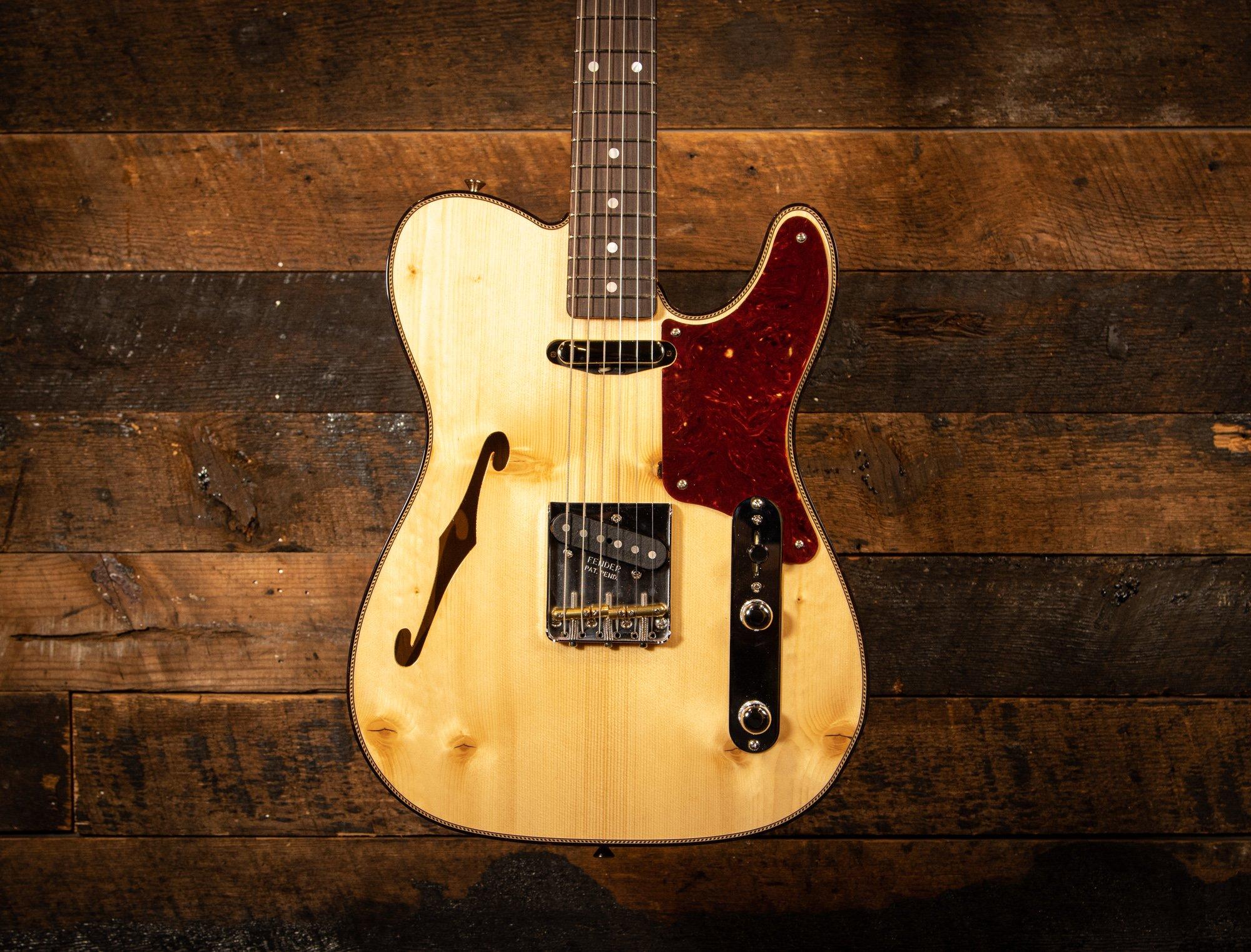 Fender Custom Shop Knotty Pine Telecaster NOS in Natural Finish